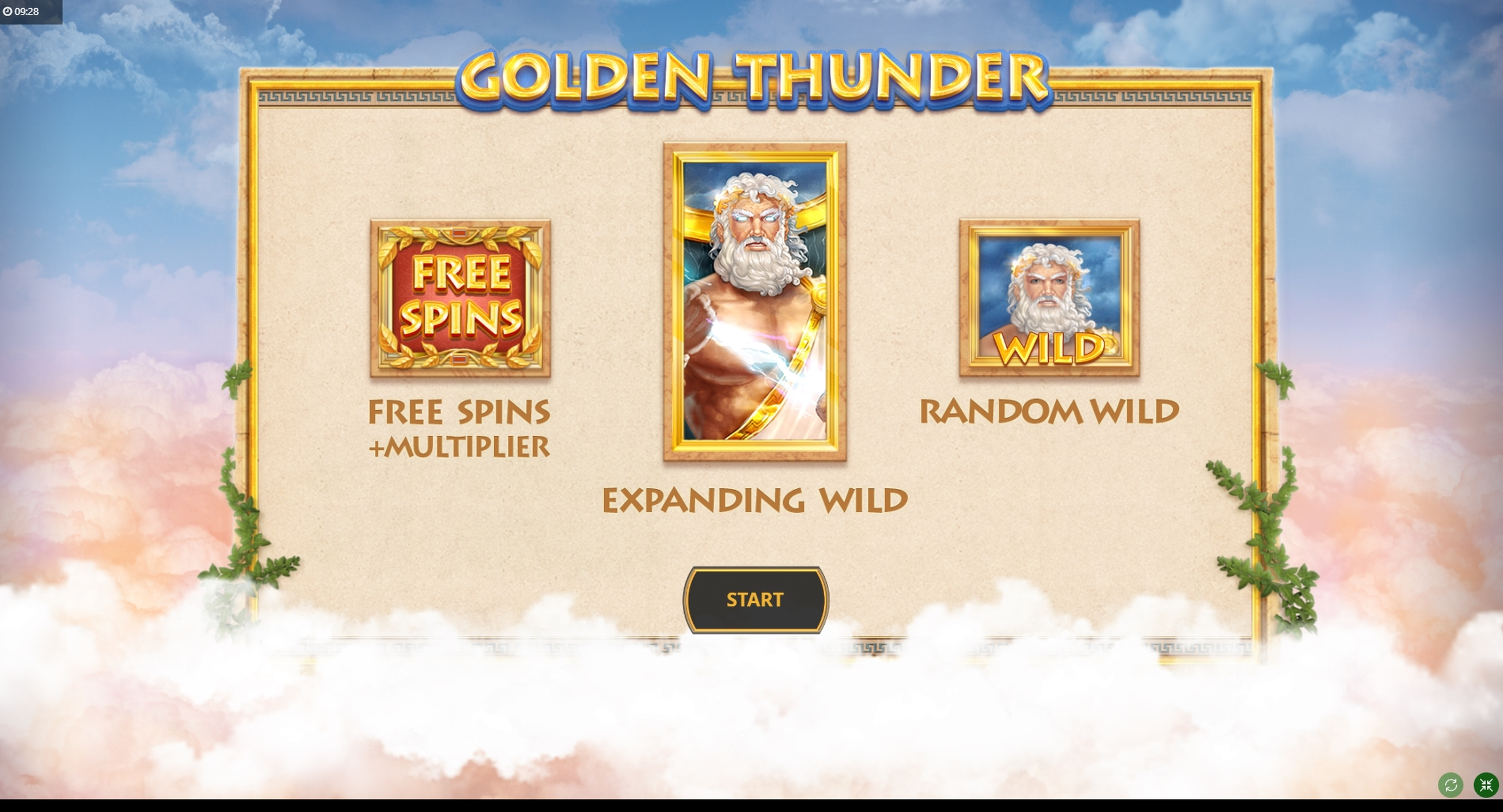 Play Golden Thunder Free Casino Slot Game by Cayetano Gaming