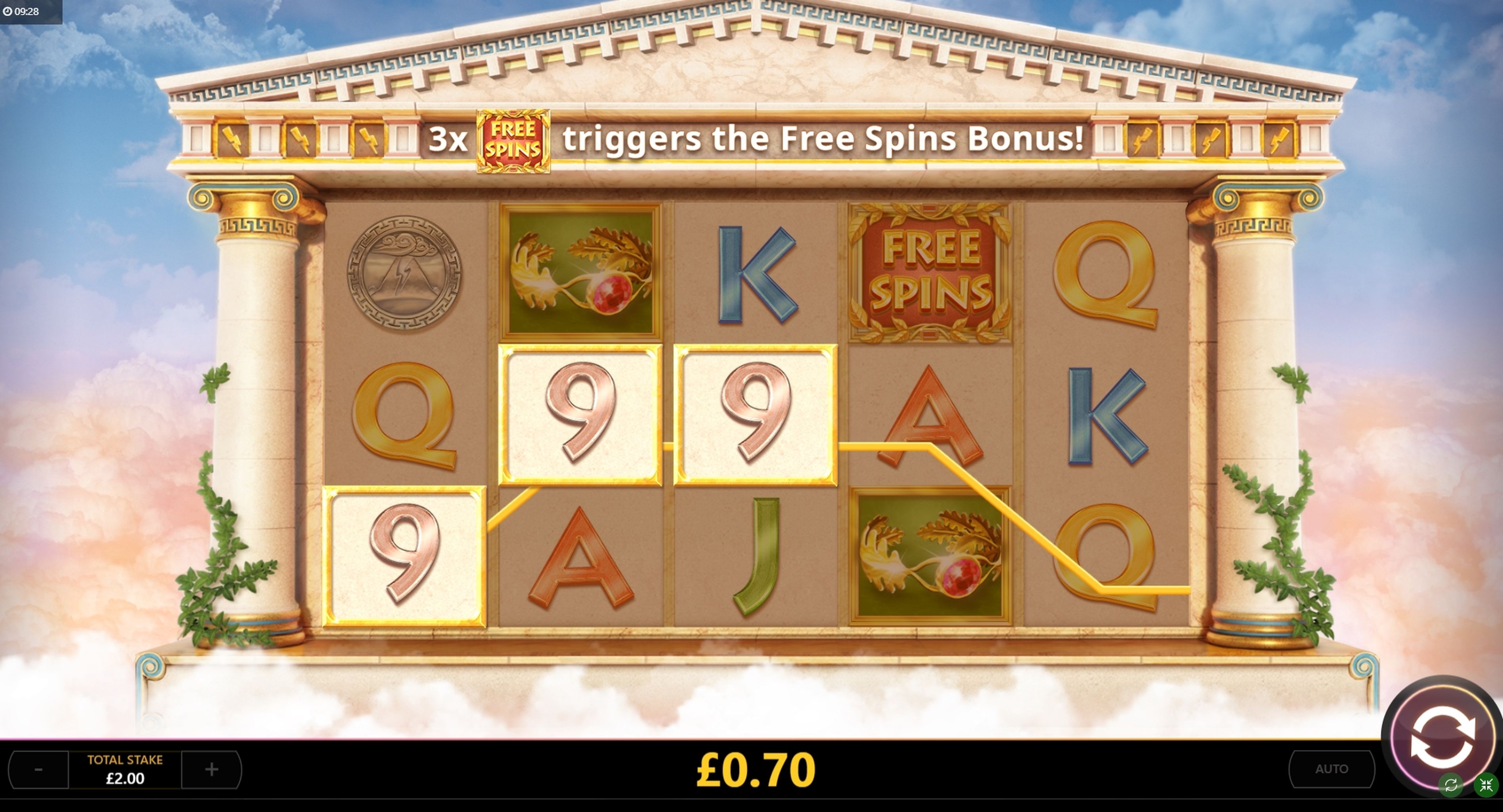 Win Money in Golden Thunder Free Slot Game by Cayetano Gaming