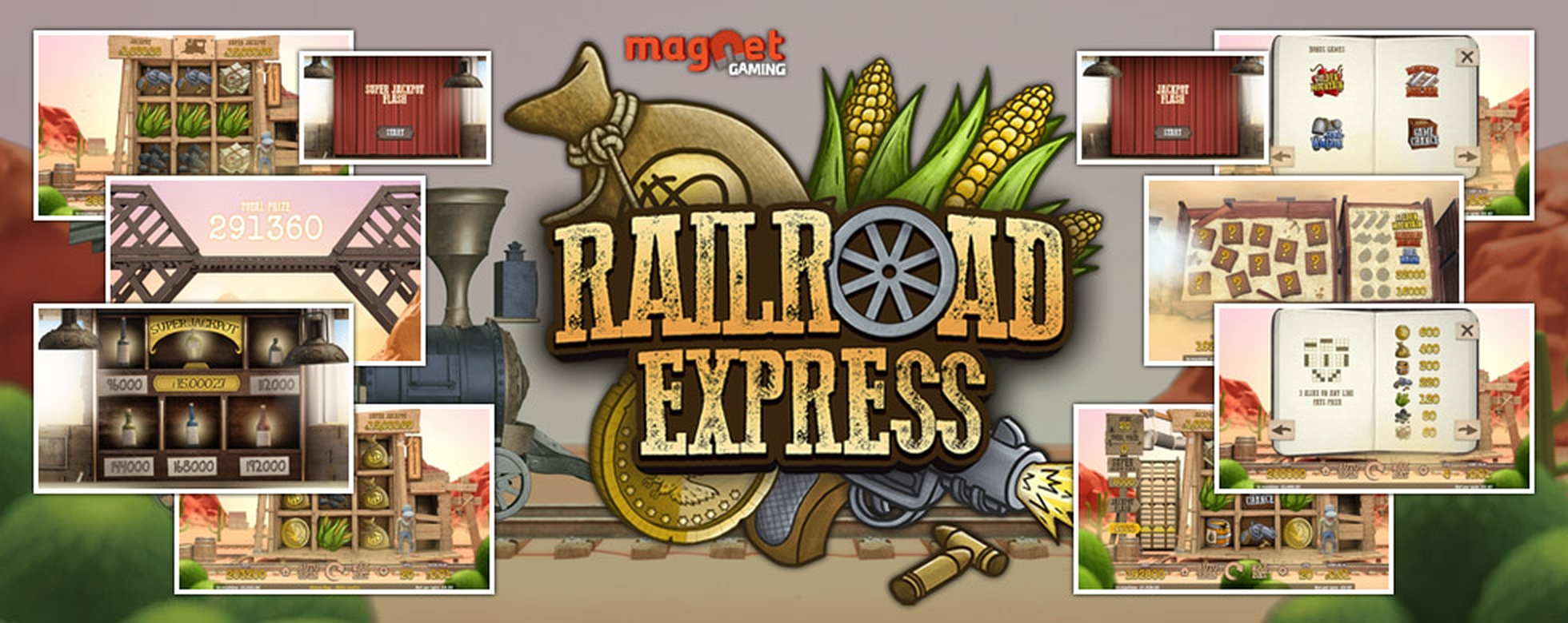 The Railroad Express Online Slot Demo Game by Magnet Gaming