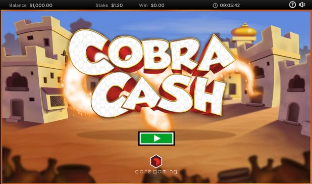 The Cobra Cash Online Slot Demo Game by CORE Gaming