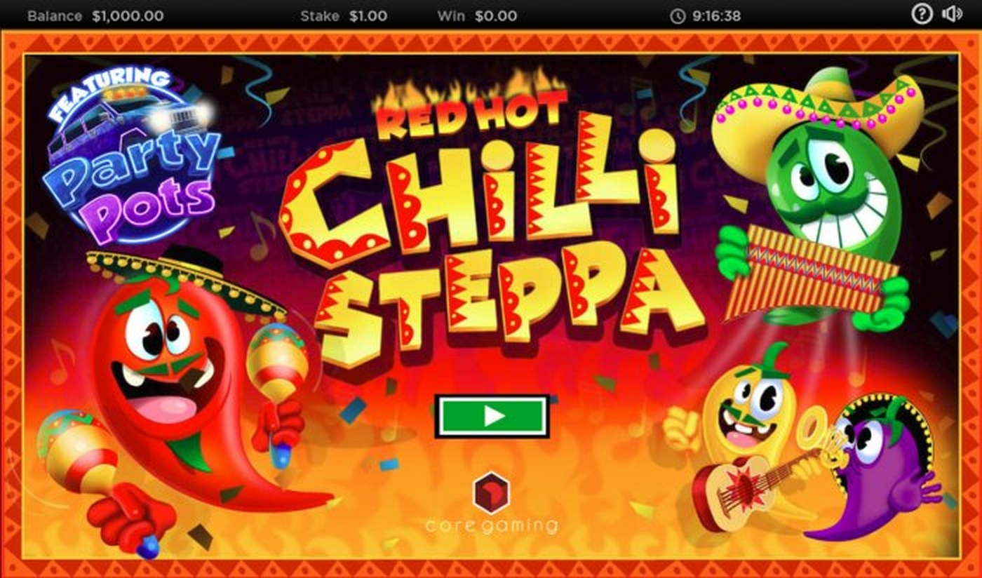 The Red Hot Chilli Steppa Online Slot Demo Game by CORE Gaming