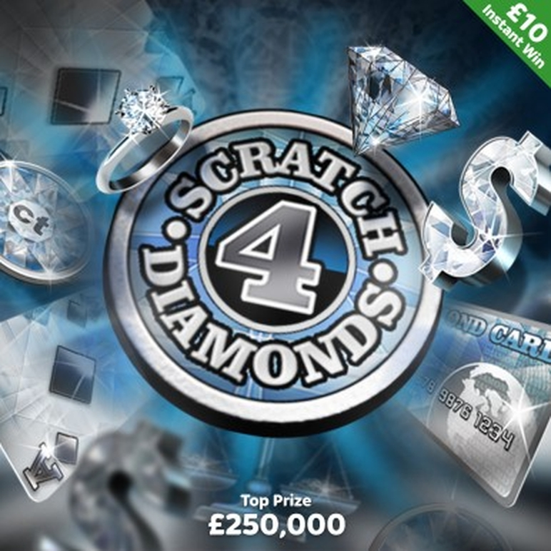 The Scratch 4 Diamonds Online Slot Demo Game by CORE Gaming