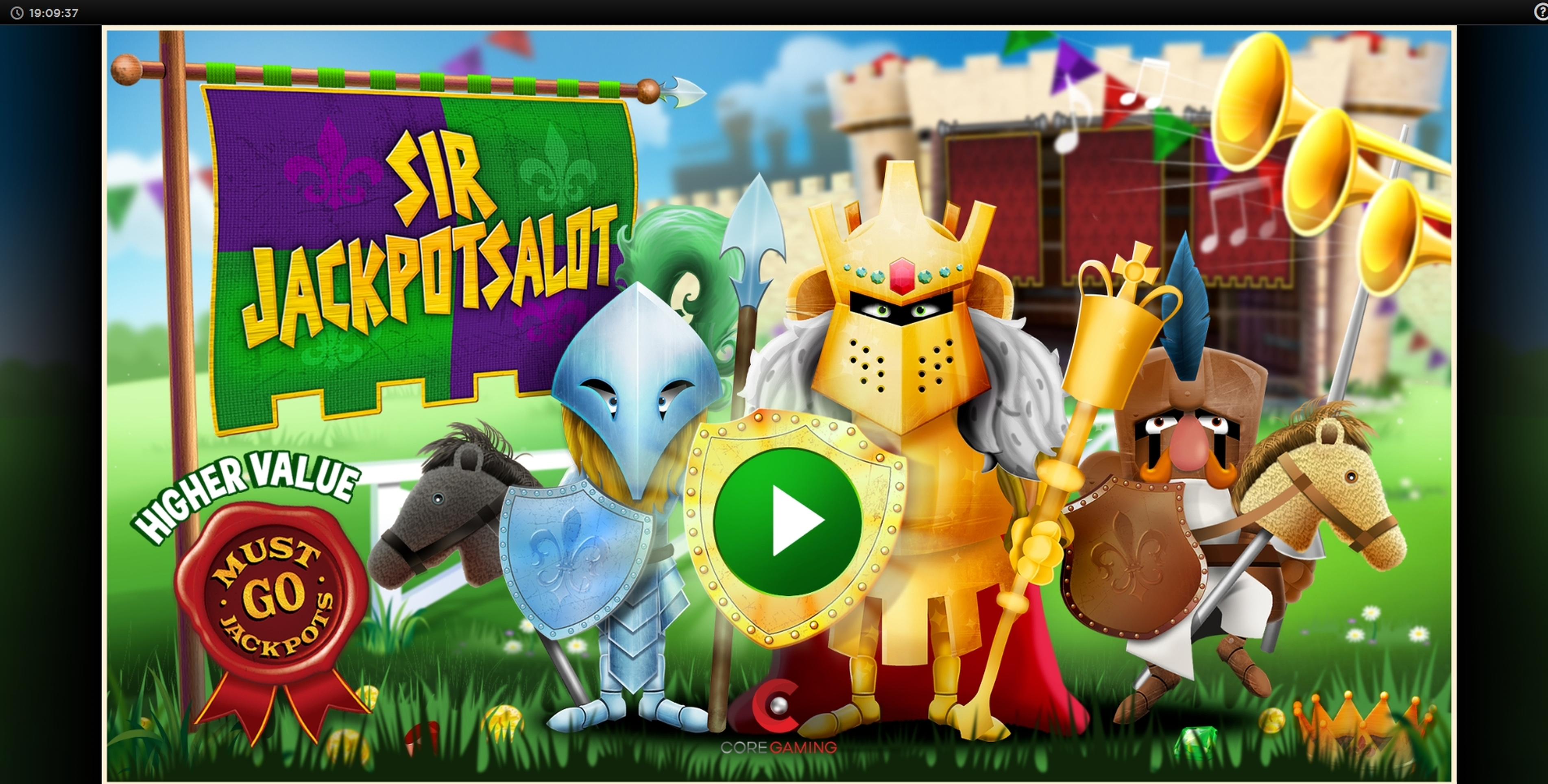 Play Sir Jackpot Alot Free Casino Slot Game by CORE Gaming