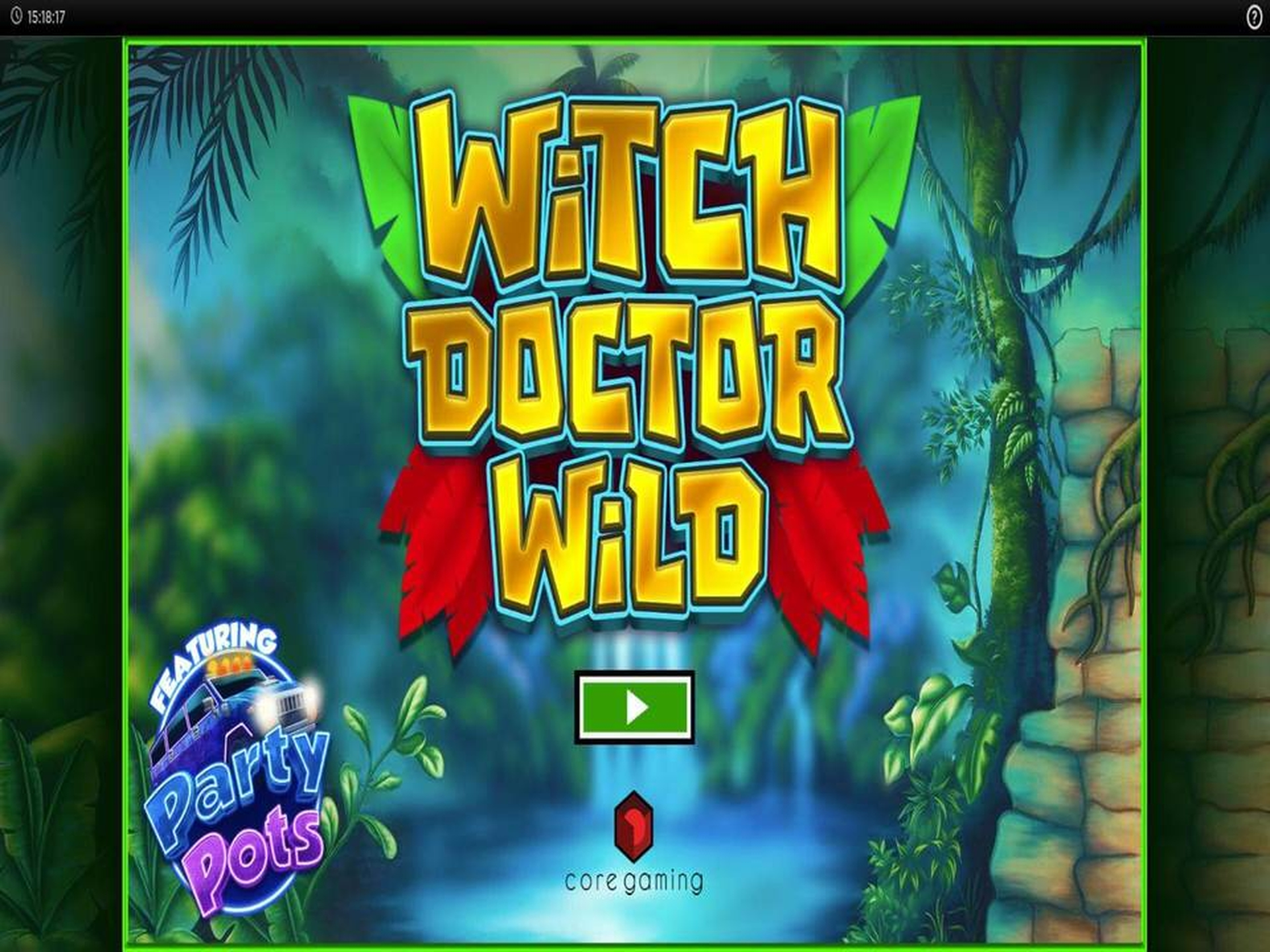 The Witch Doctor Wild Online Slot Demo Game by CORE Gaming