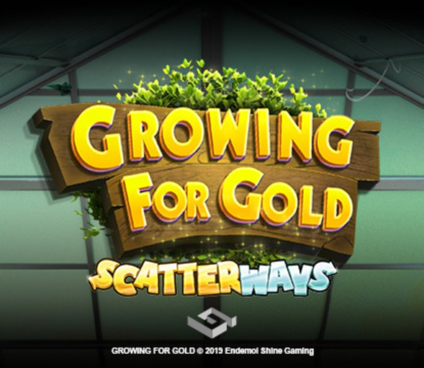 Win Money in Growing for Gold Free Slot Game by Endemol Games