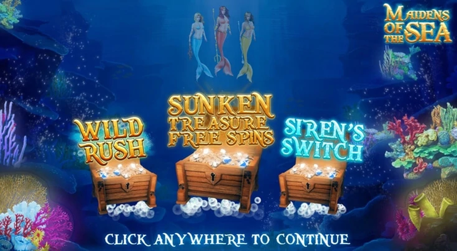 The Maidens Of The Sea Online Slot Demo Game by Endemol Games
