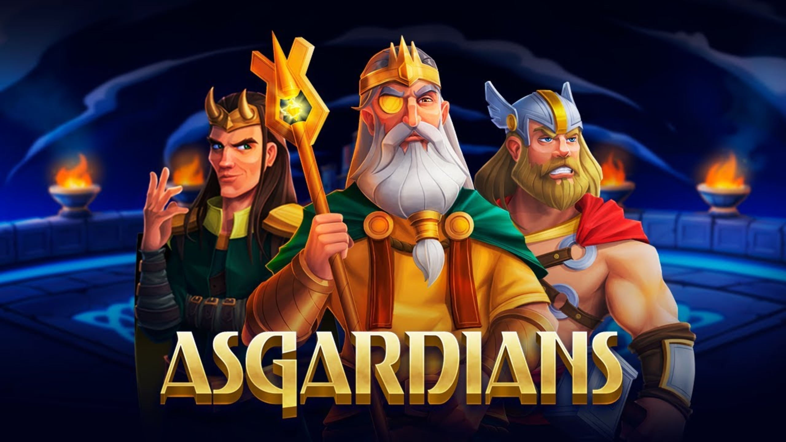 The Asgardians Online Slot Demo Game by Endorphina