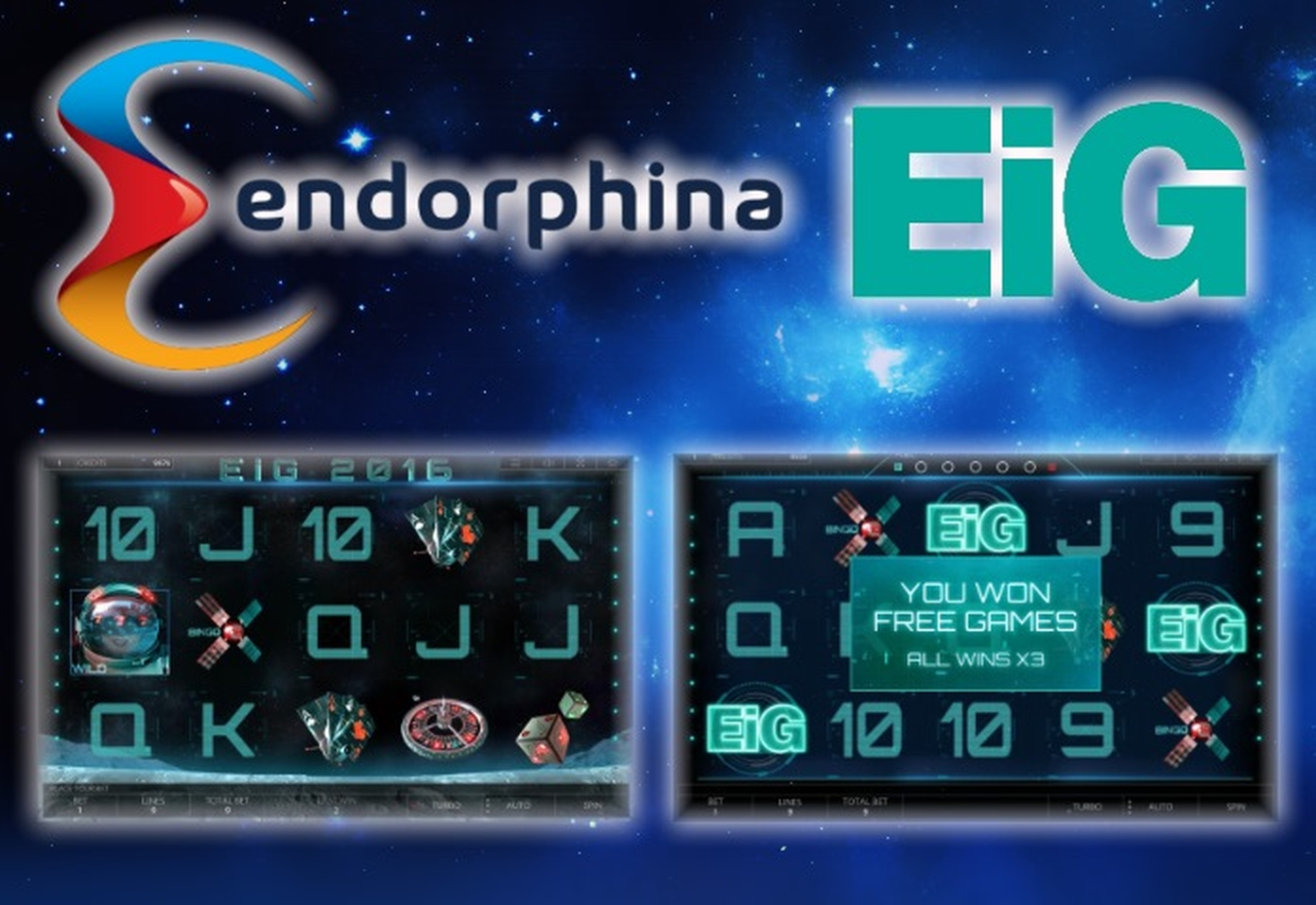 The EiG2016 Online Slot Demo Game by Endorphina