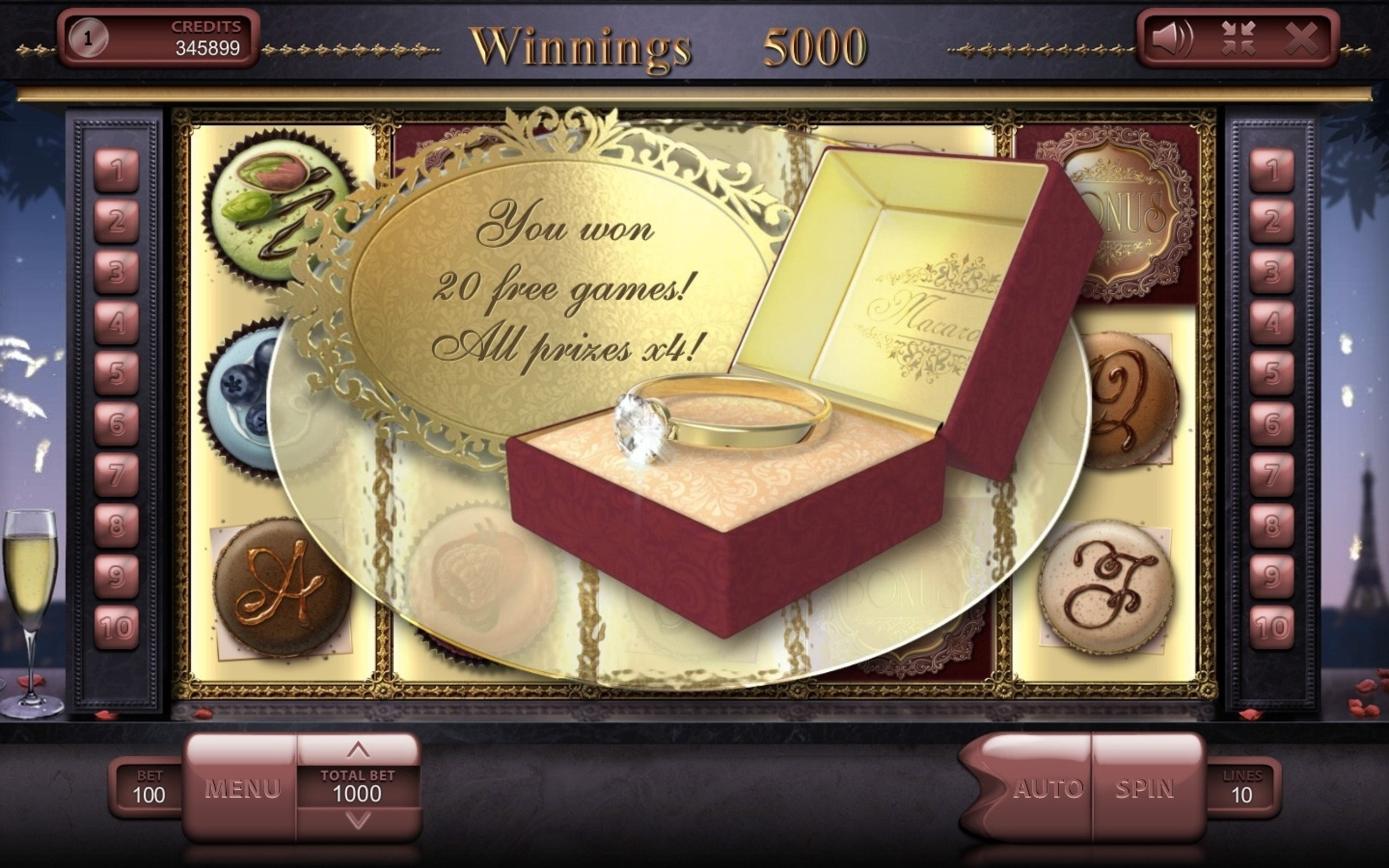 The Macarons Online Slot Demo Game by Endorphina