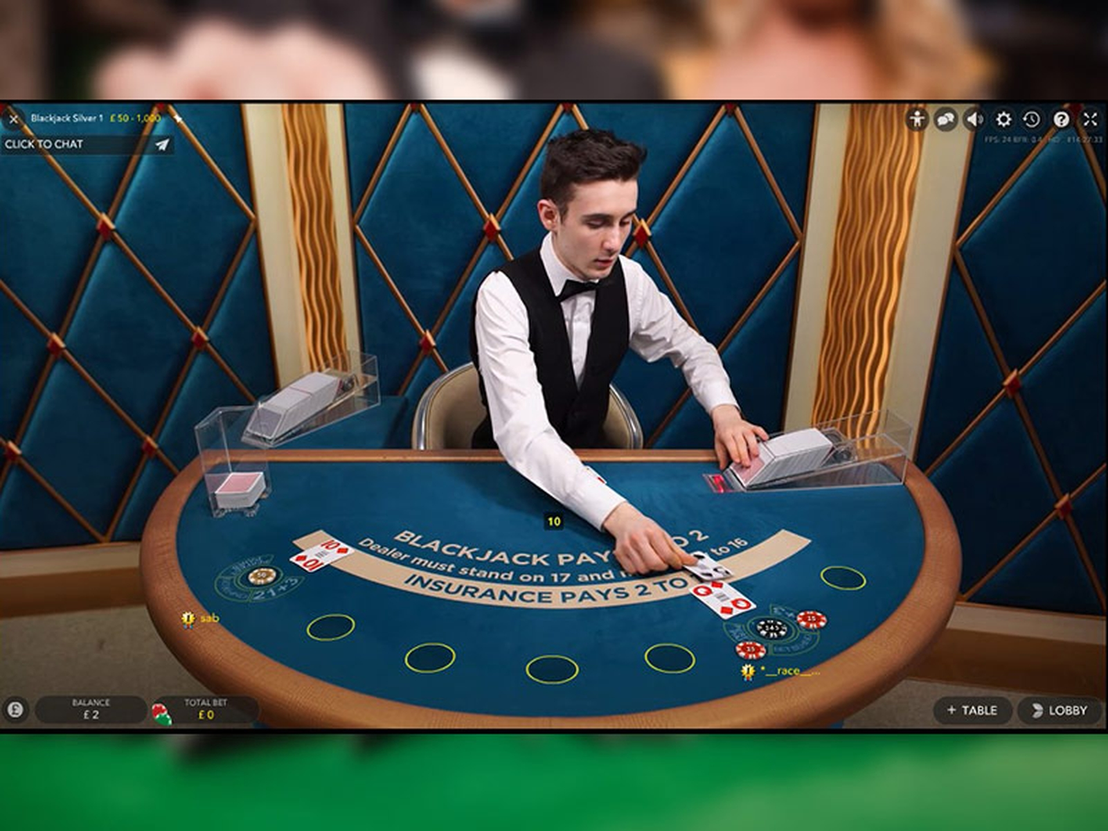 The Blackjack Silver (Evolution Gaming) Online Slot Demo Game by Evolution Gaming