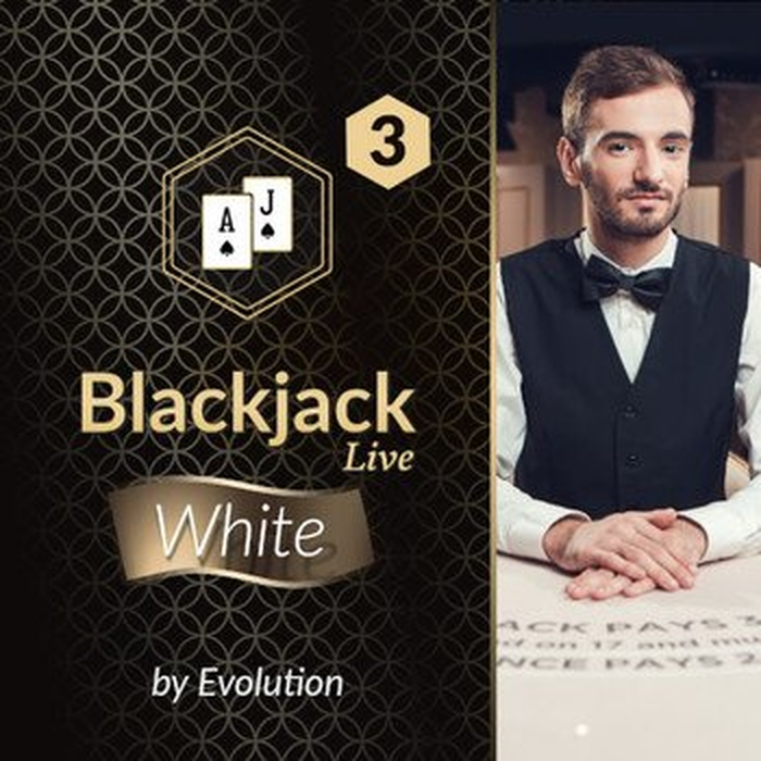 The Blackjack White 3 (Evolution Gaming) Online Slot Demo Game by Evolution Gaming