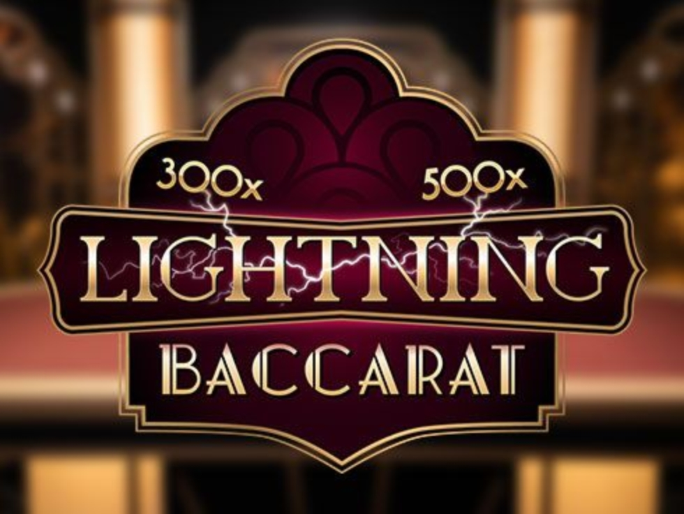 The Lightning Baccarat Online Slot Demo Game by Evolution Gaming
