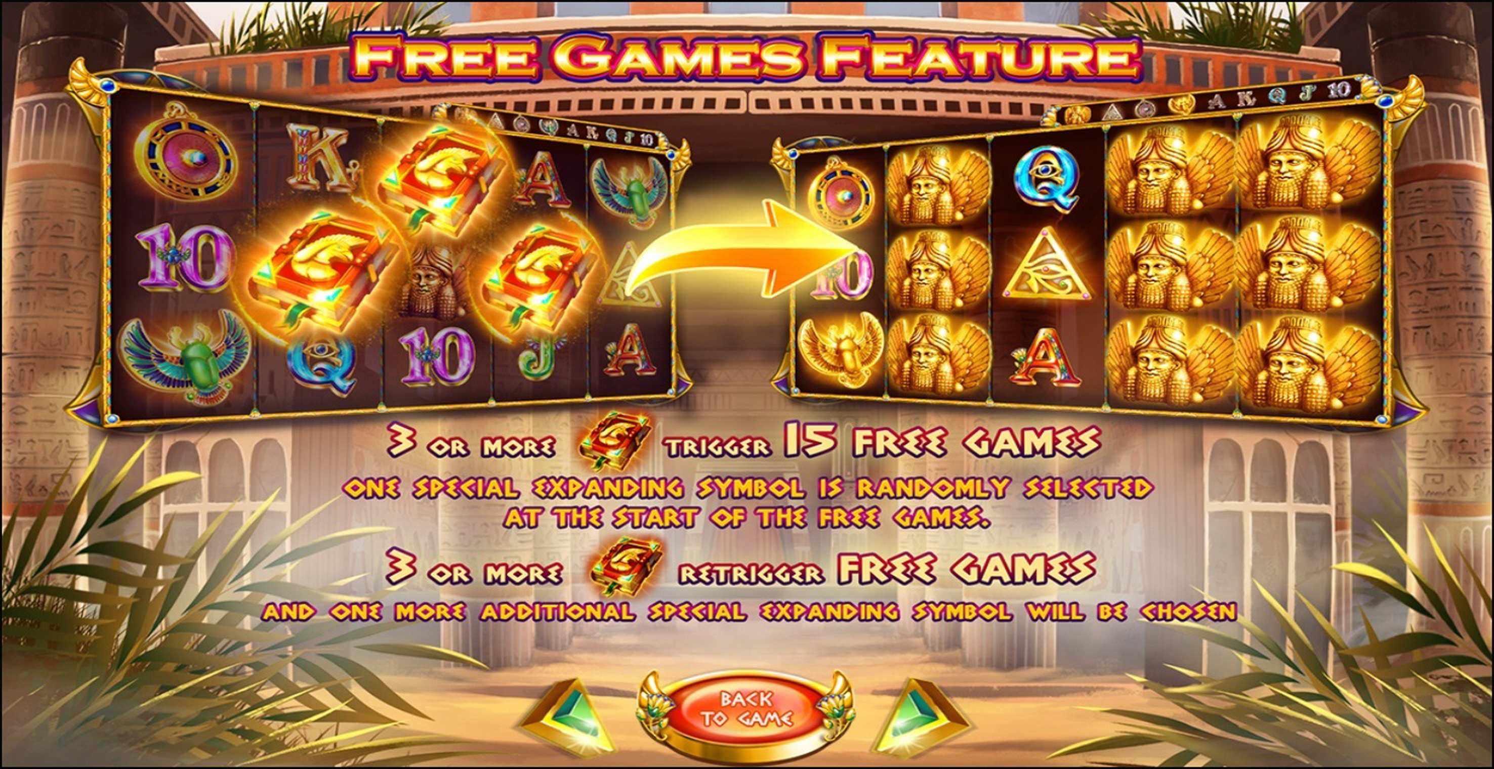 Info of Book Of Anunnaki Slot Game by Felix Gaming