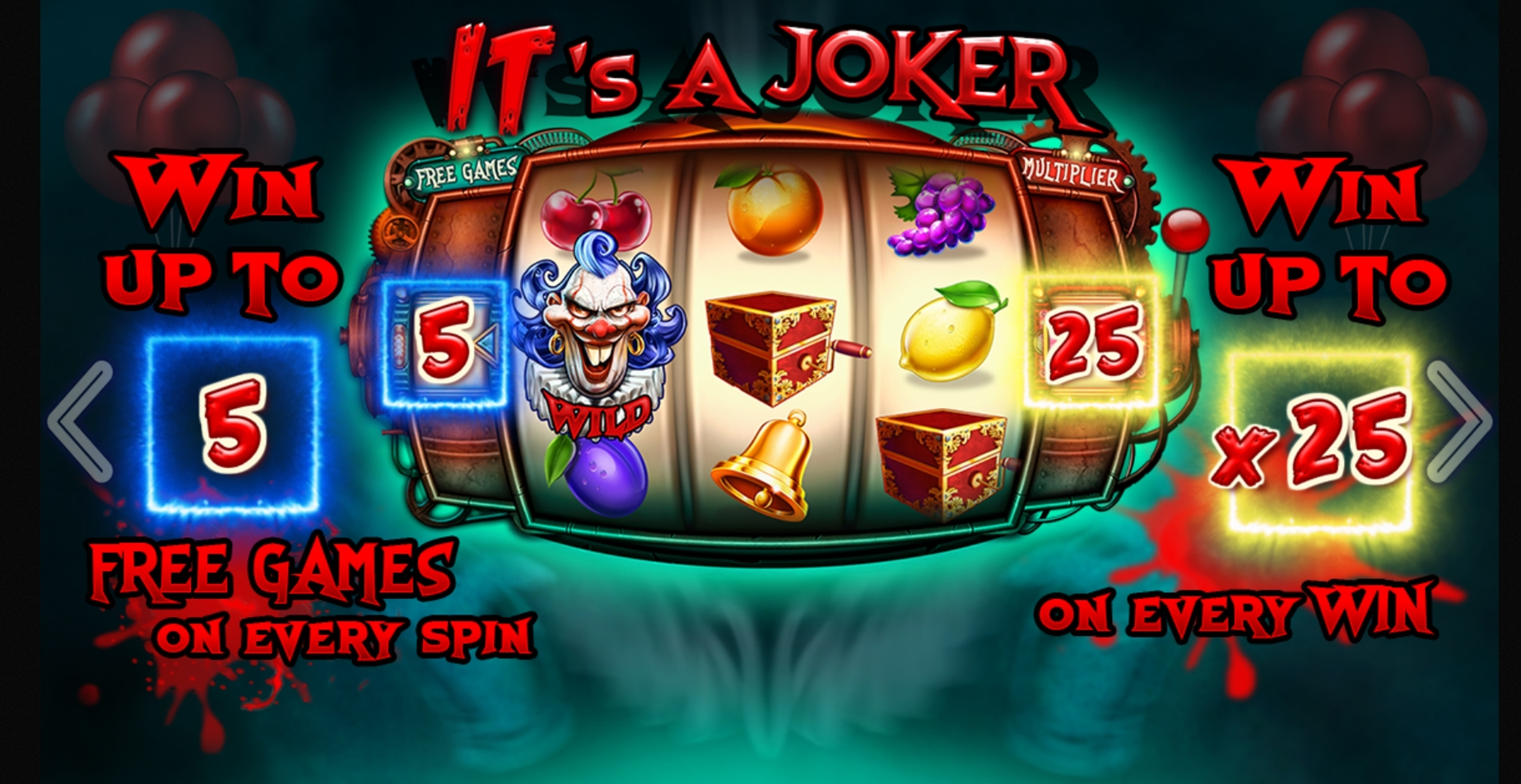 Play Its a Joker Free Casino Slot Game by Felix Gaming
