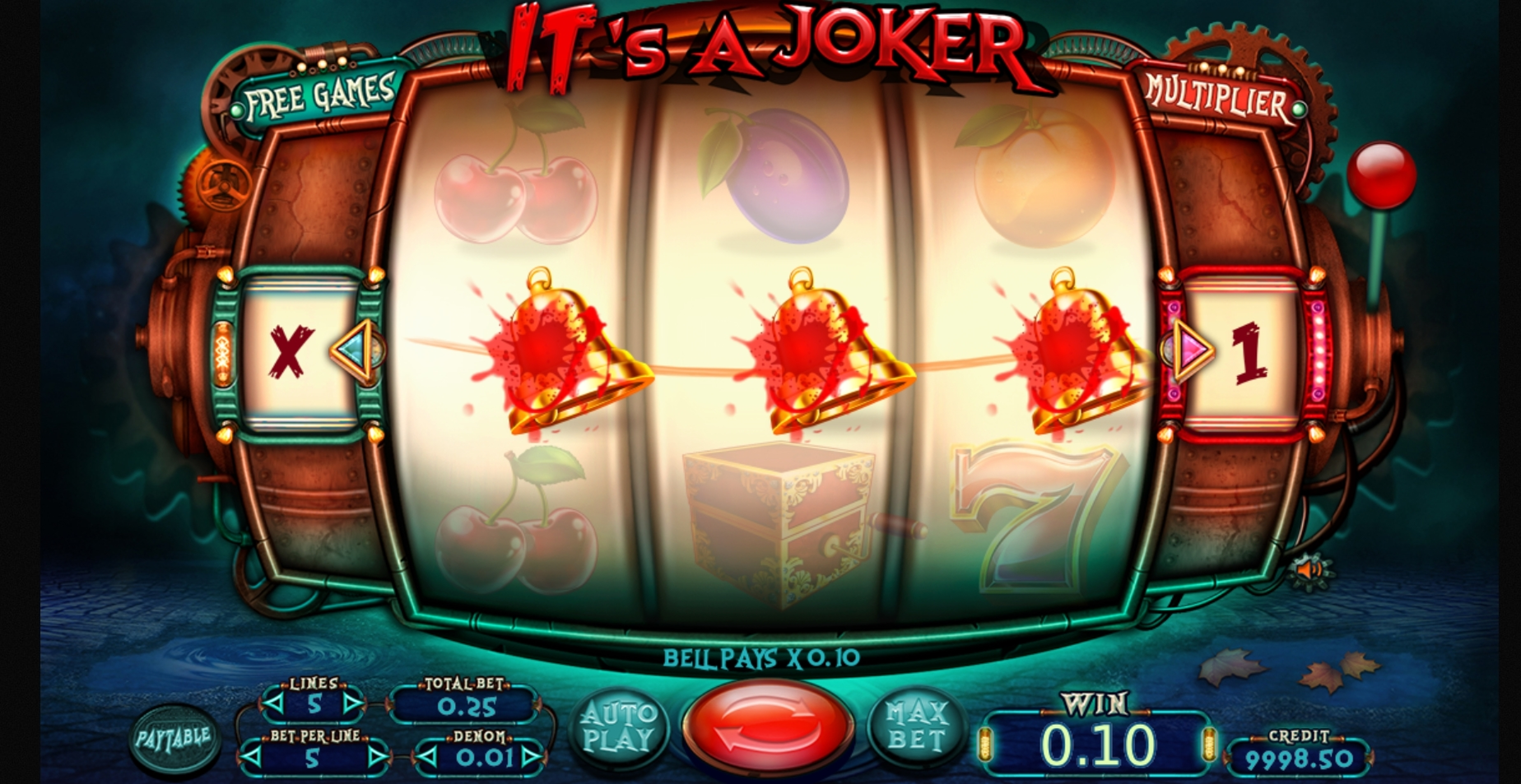 Win Money in Its a Joker Free Slot Game by Felix Gaming