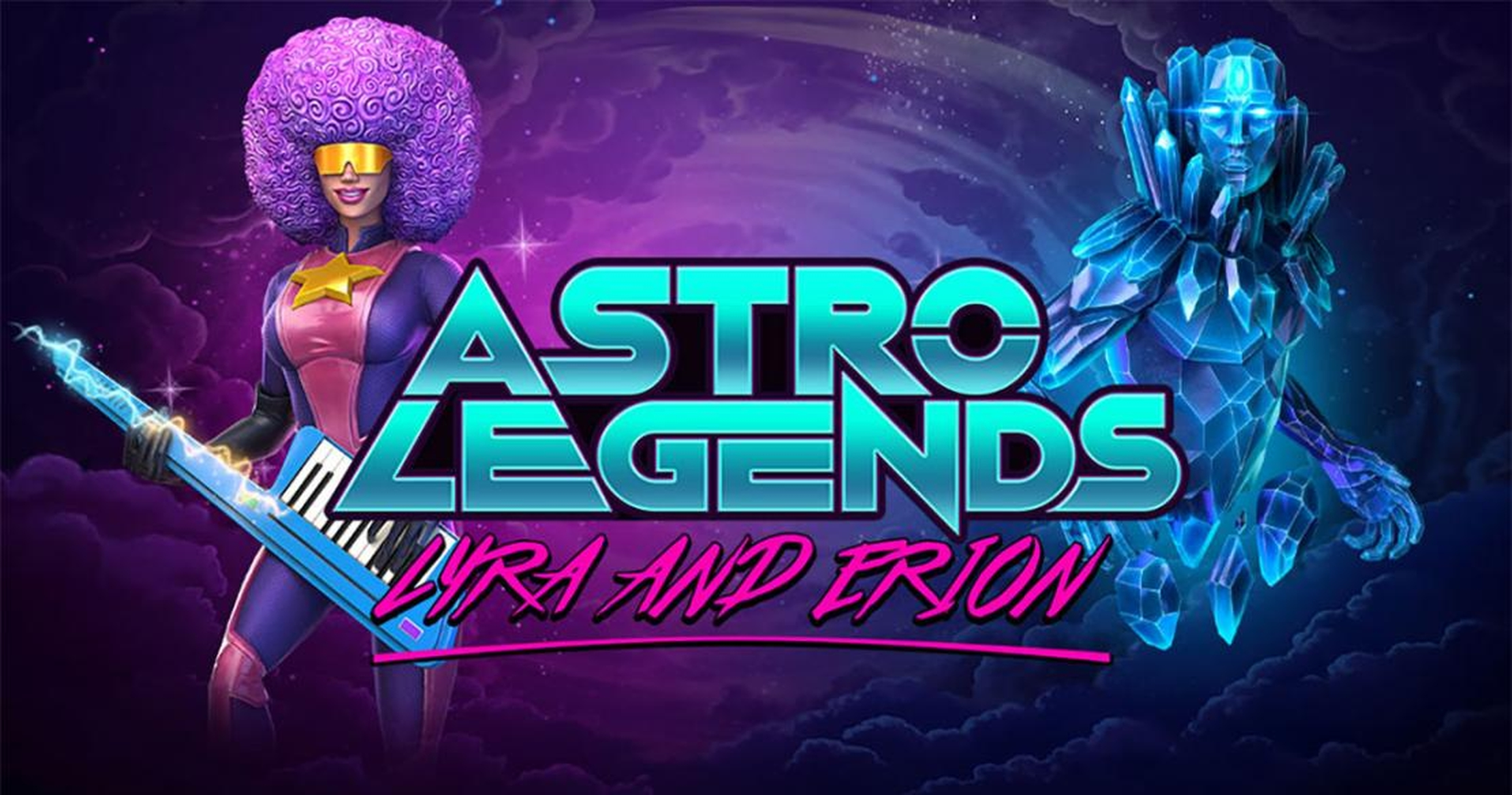 The Astro Legends: Lyra and Erion Online Slot Demo Game by Foxium