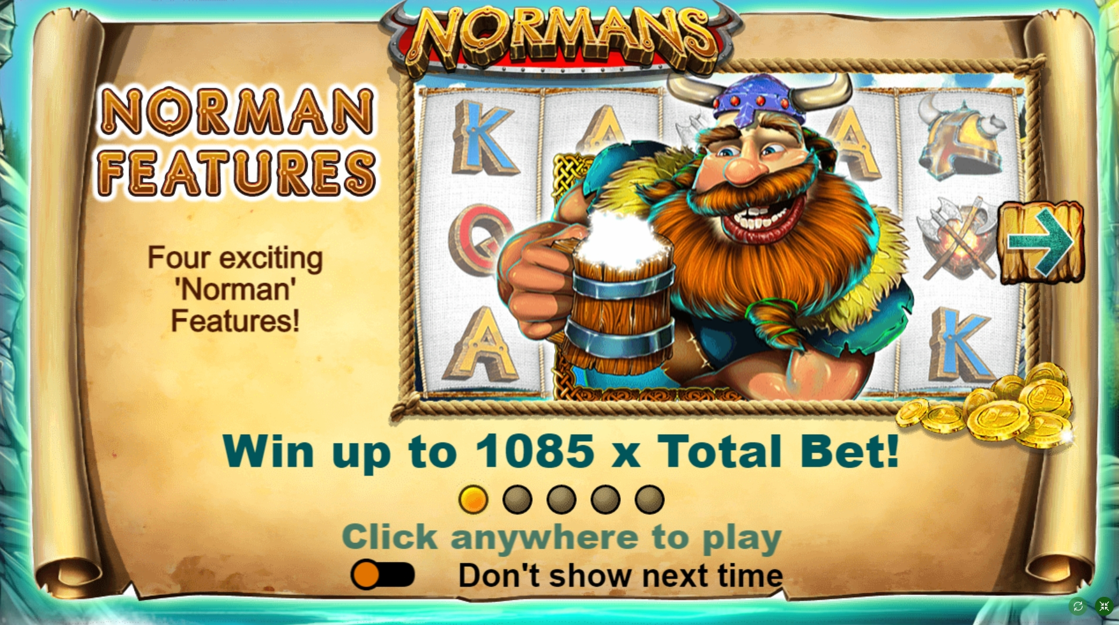 Play Normans Free Casino Slot Game by FUGA Gaming