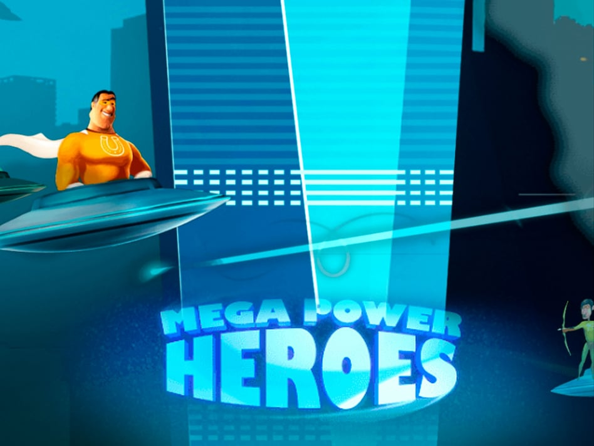 The Mega Power Heroes Online Slot Demo Game by Fugaso