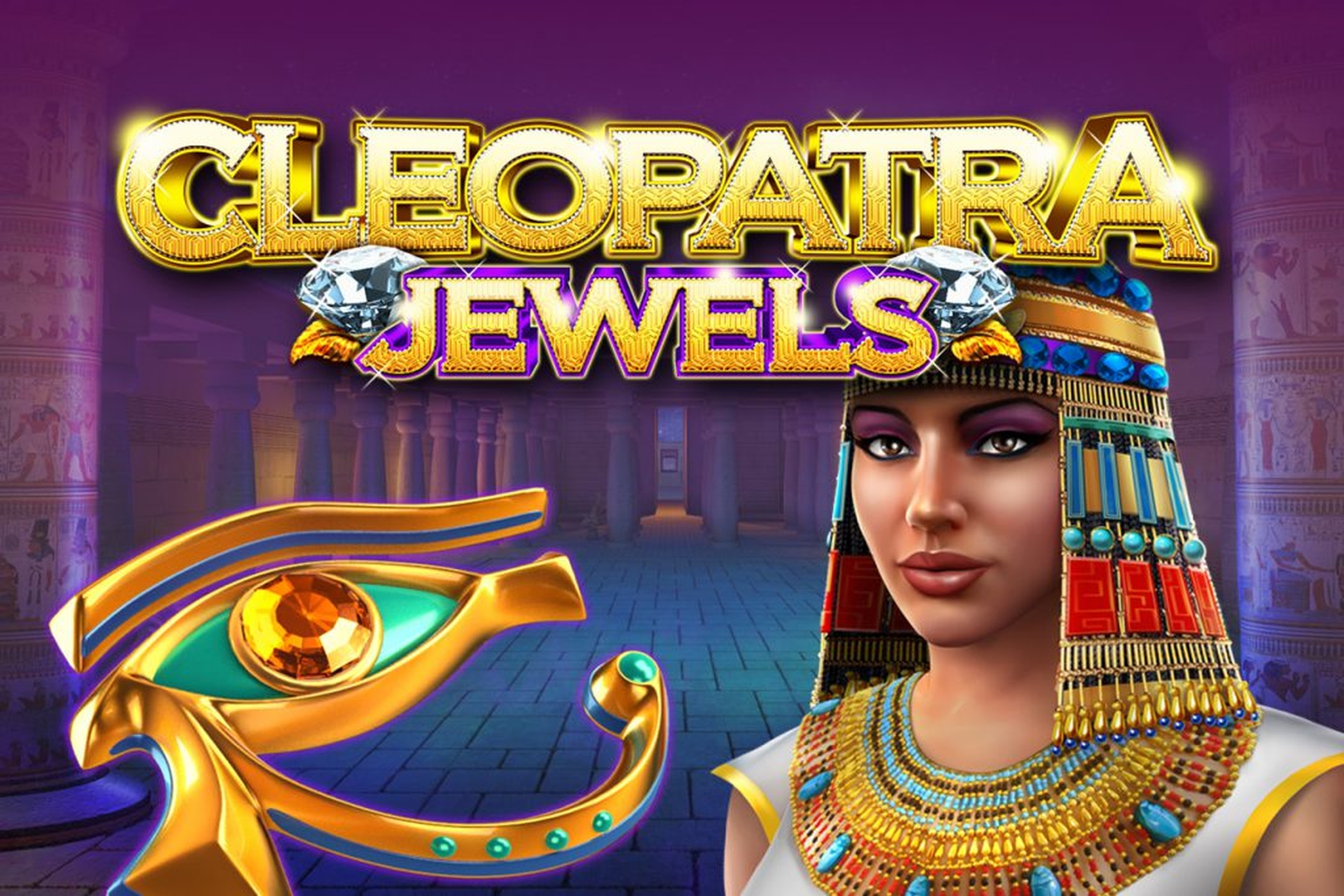 The Cleopatra Jewels (GameArt) Online Slot Demo Game by GameArt