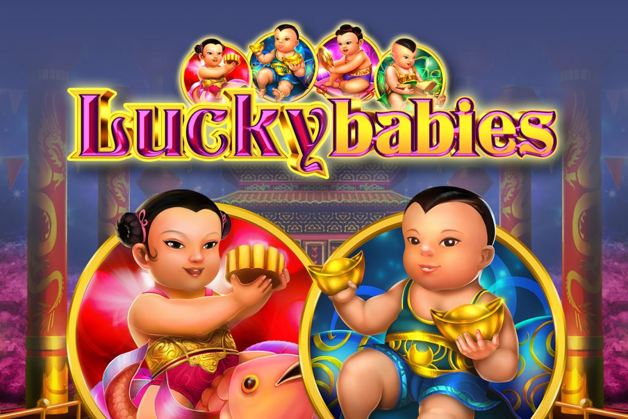 The Lucky Babies Online Slot Demo Game by GameArt