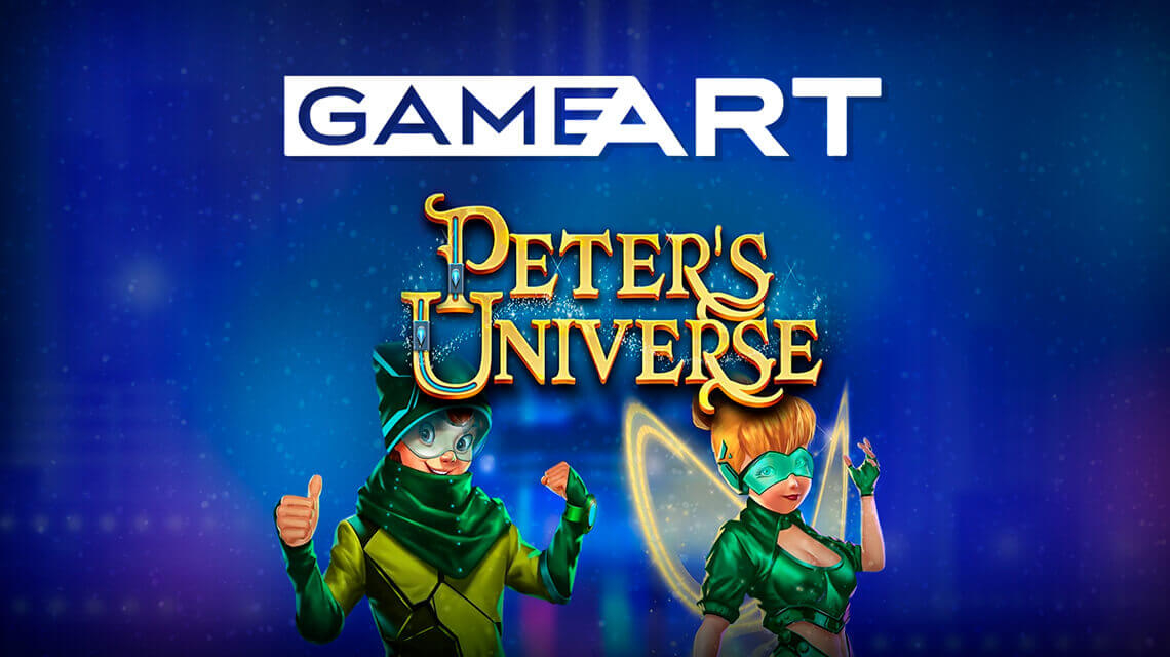 The Peter's Universe Online Slot Demo Game by GameArt