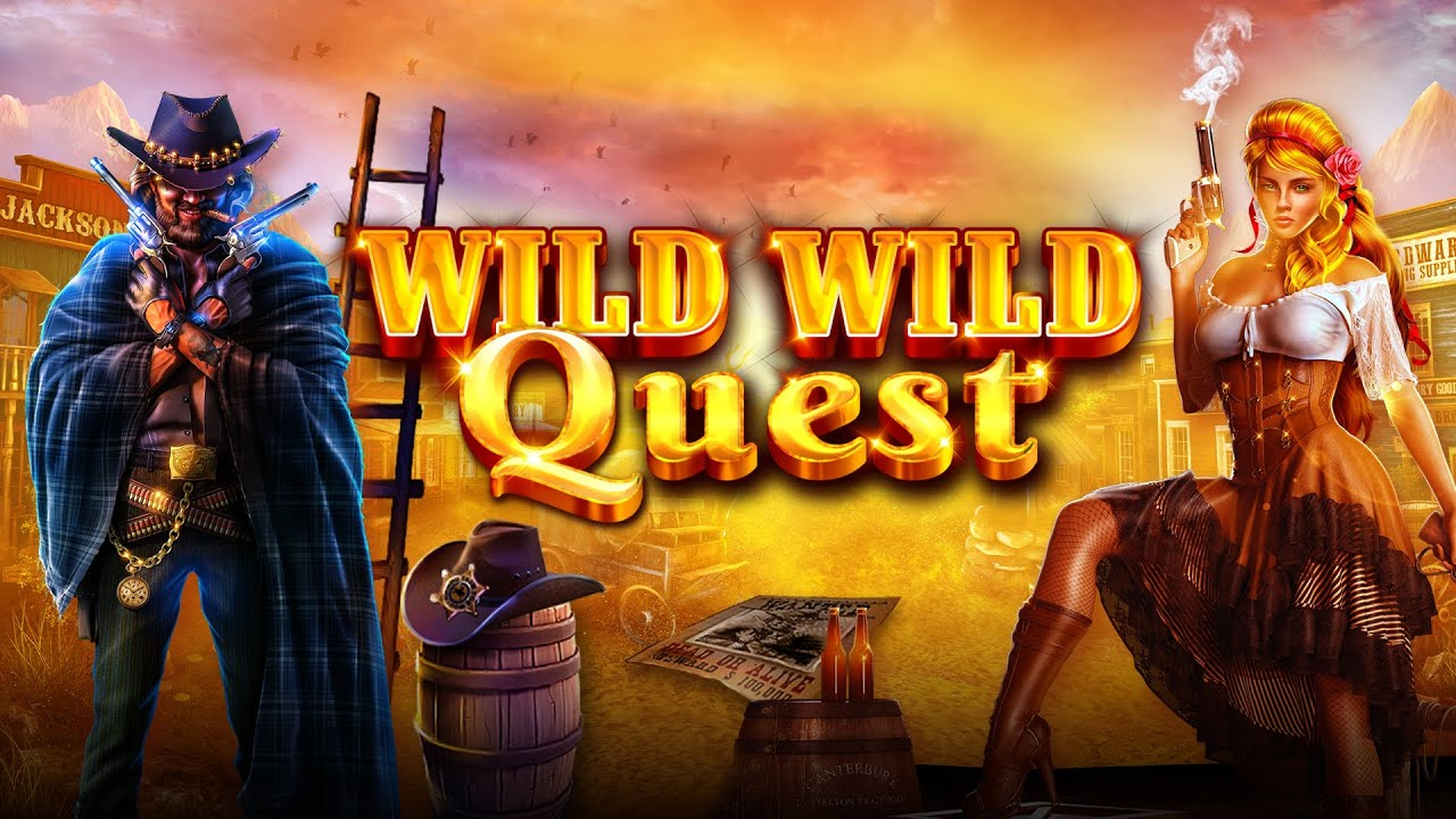 The Wild Wild Quest Online Slot Demo Game by GameArt