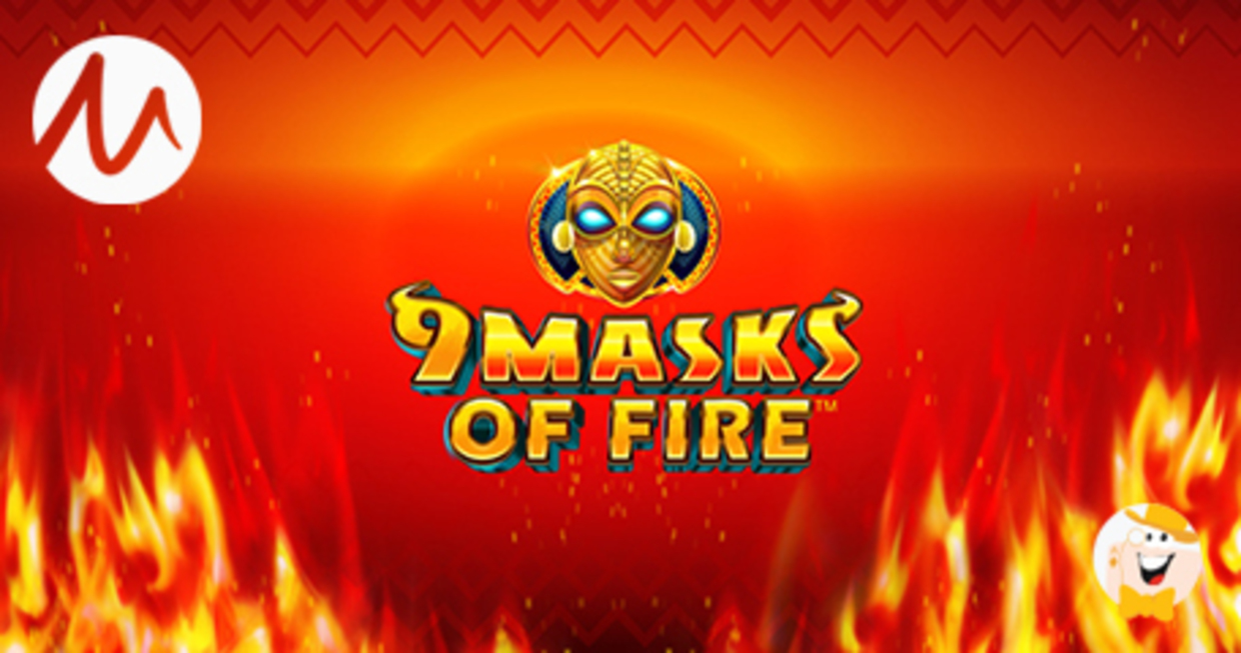 The 9 Masks Of Fire Online Slot Demo Game by Gameburger Studios