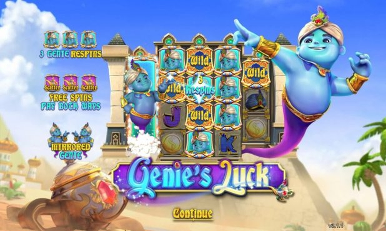 The Genie's Luck Online Slot Demo Game by Gameplay Interactive