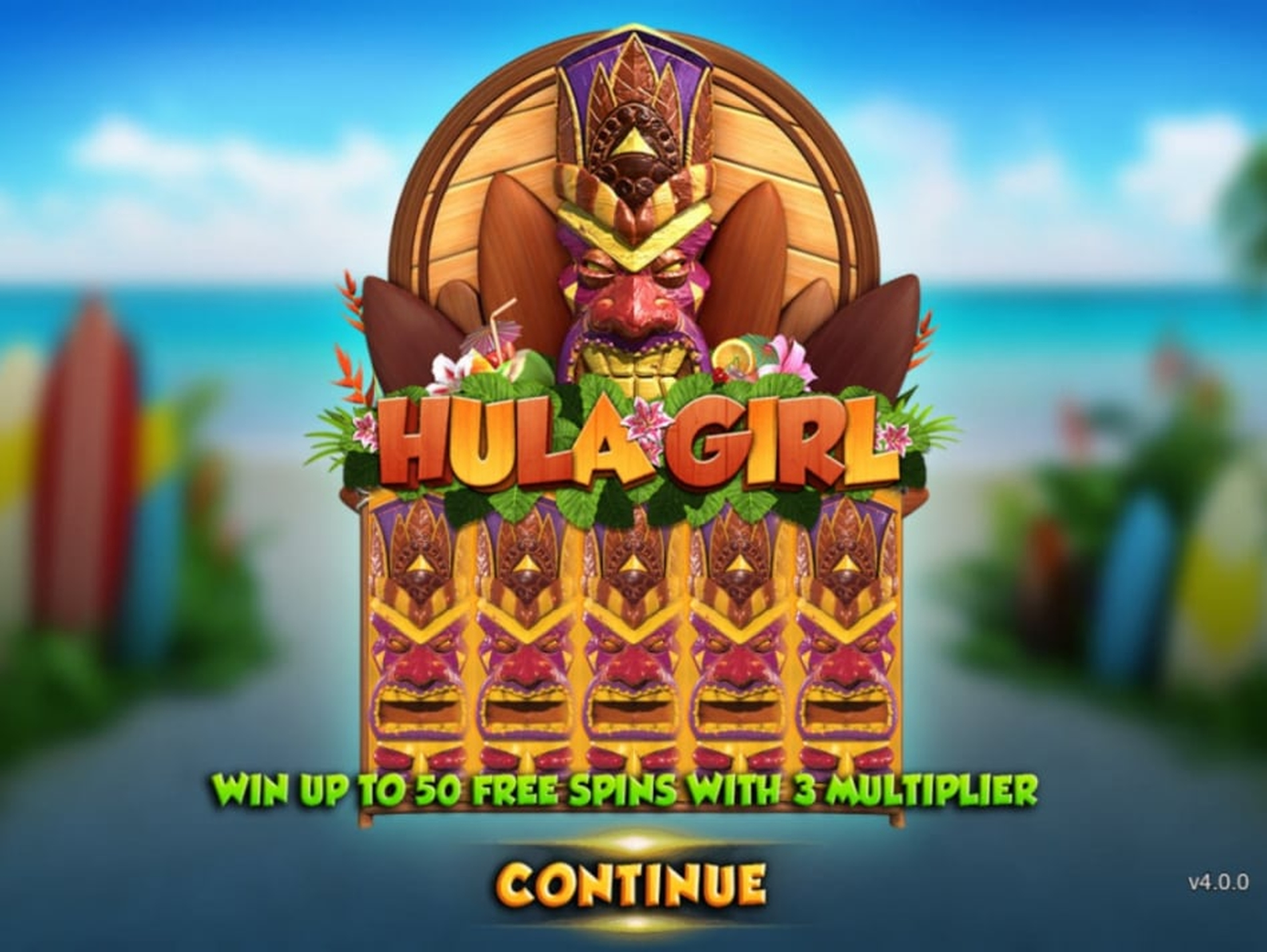 The Hula Girl Online Slot Demo Game by Gameplay Interactive