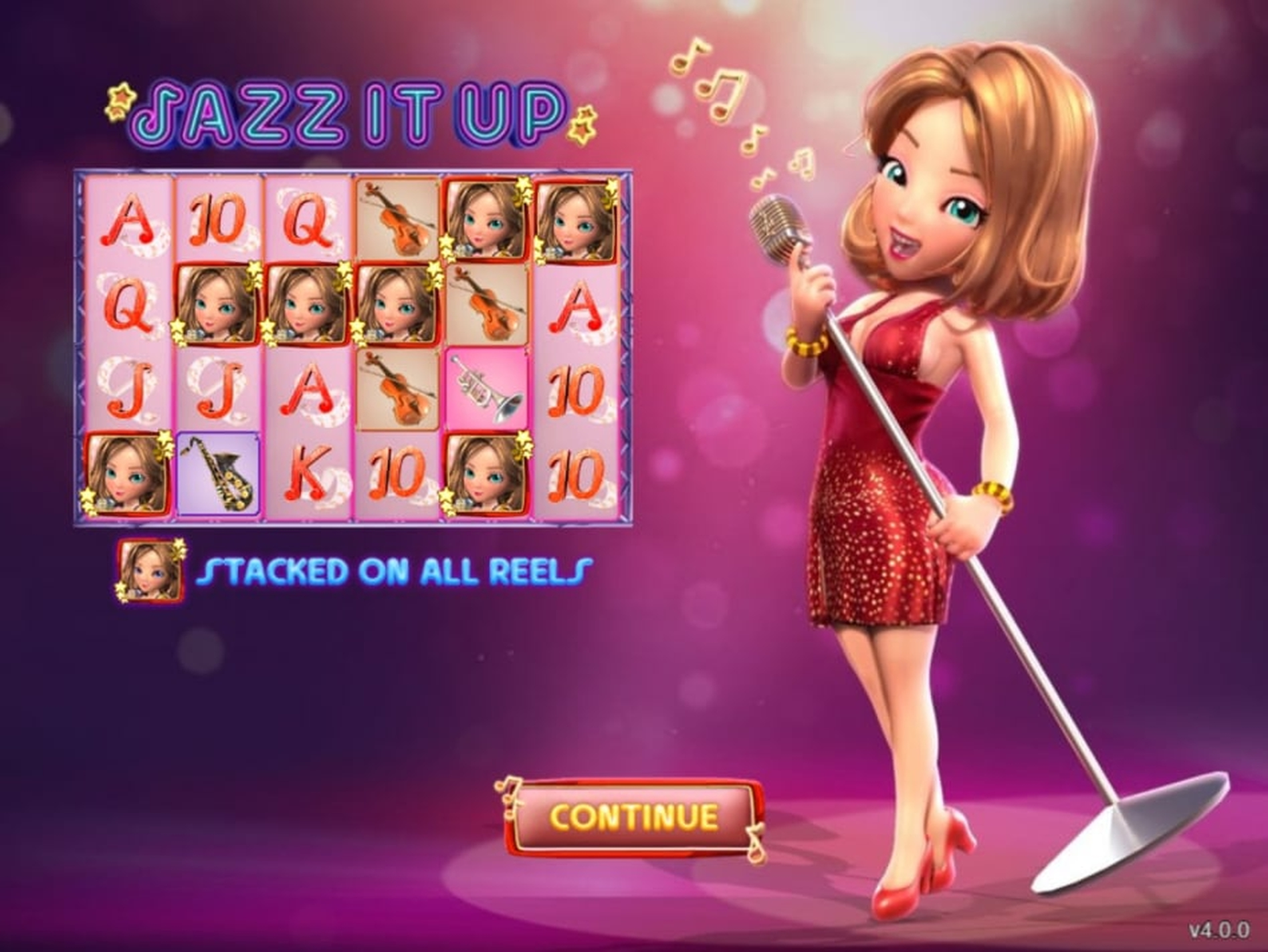 The Jazz It Up Online Slot Demo Game by Gameplay Interactive