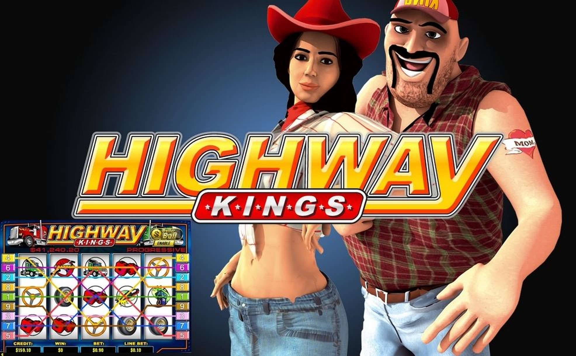 The Kings of Highway Online Slot Demo Game by Gameplay Interactive