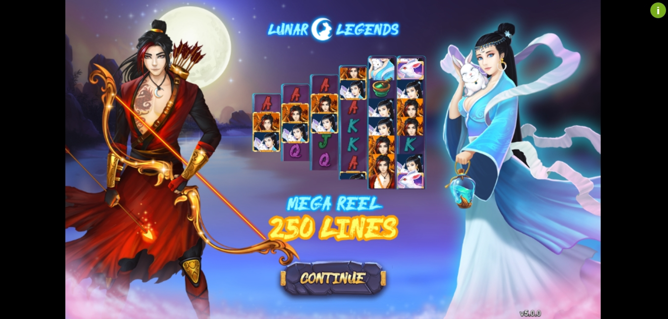 Play Lunar Legends Free Casino Slot Game by Gameplay Interactive
