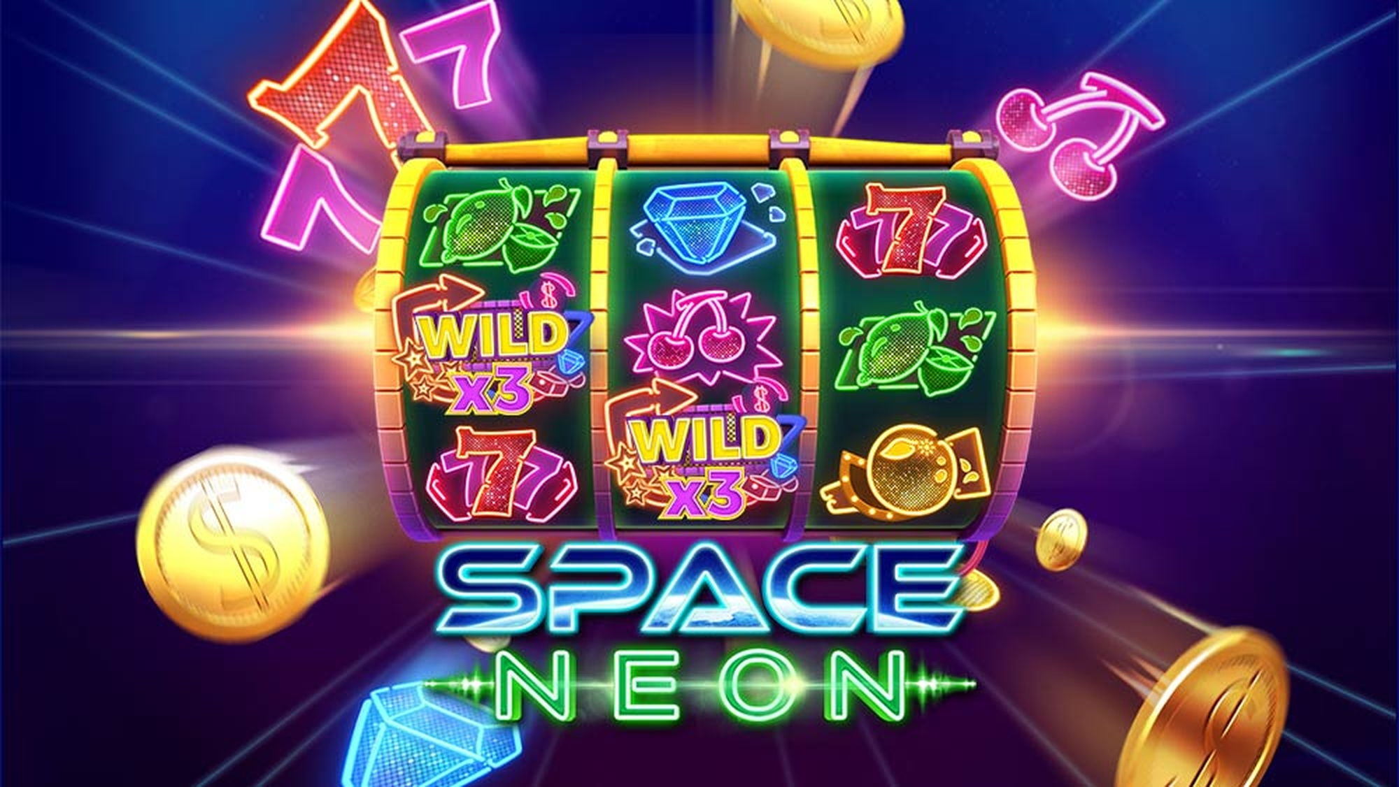 The Space Neon Online Slot Demo Game by Gameplay Interactive