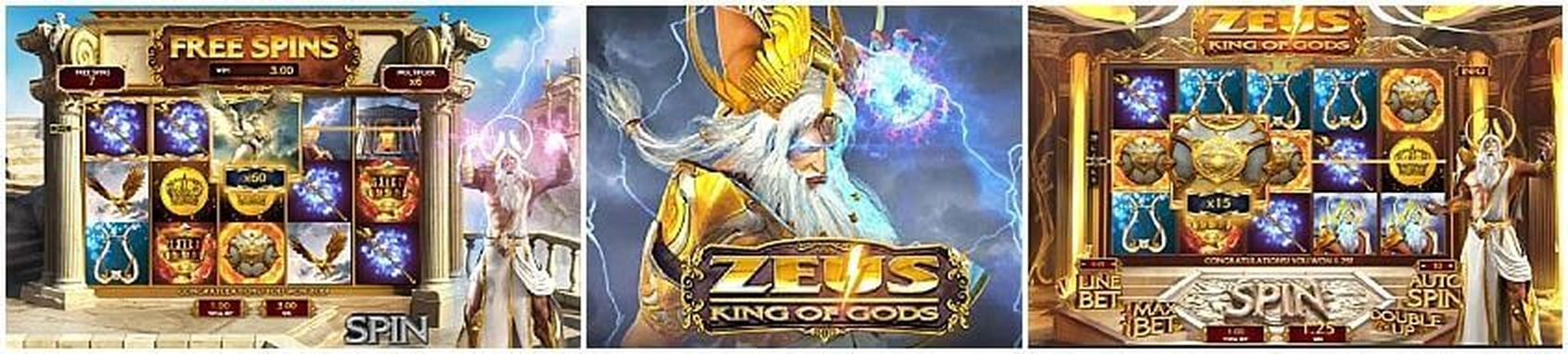 The Zeus King of Gods Online Slot Demo Game by Gameplay Interactive
