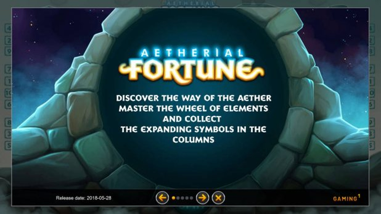 The Aetherial Fortune Online Slot Demo Game by GAMING1