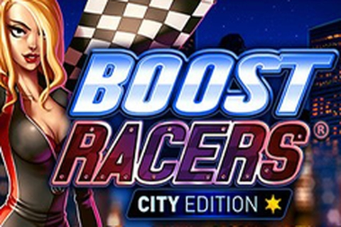 The Boost Racers City Edition Online Slot Demo Game by GAMING1