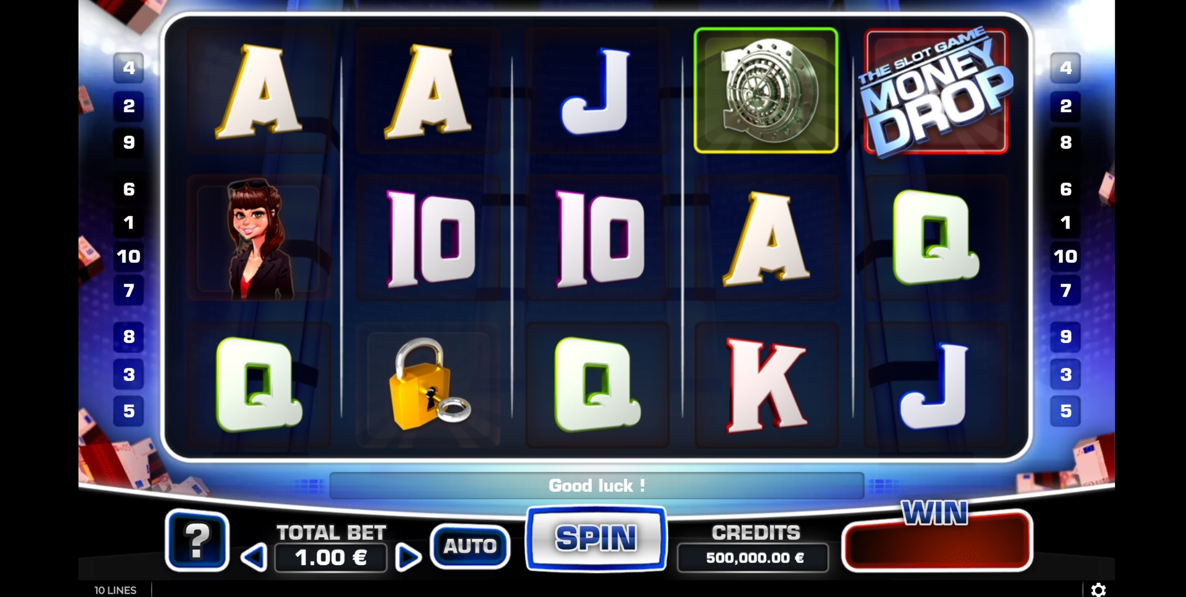 Reels in Money Drop Slot Slot Game by GAMING1