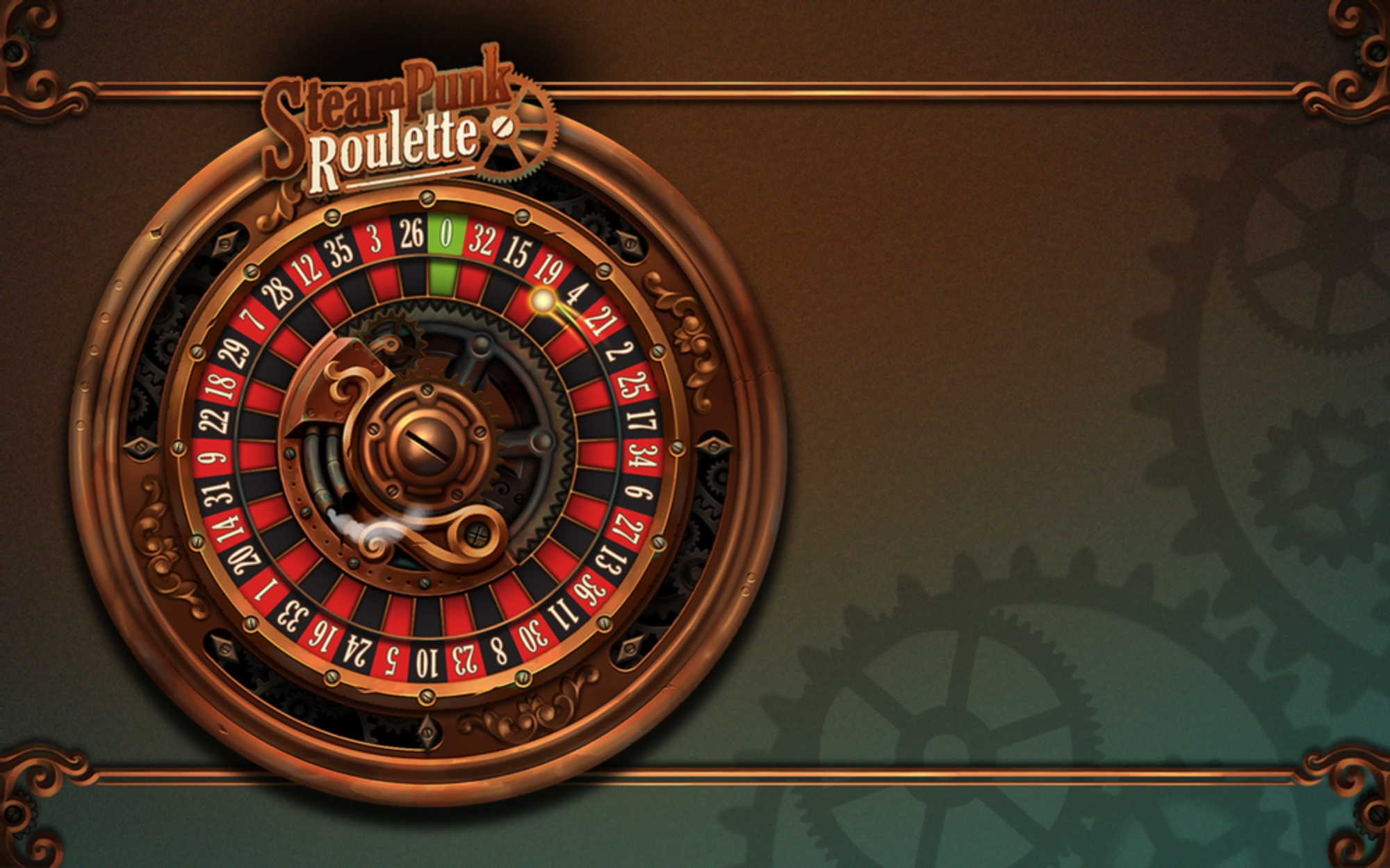 The Steampunk Roulette Online Slot Demo Game by GAMING1