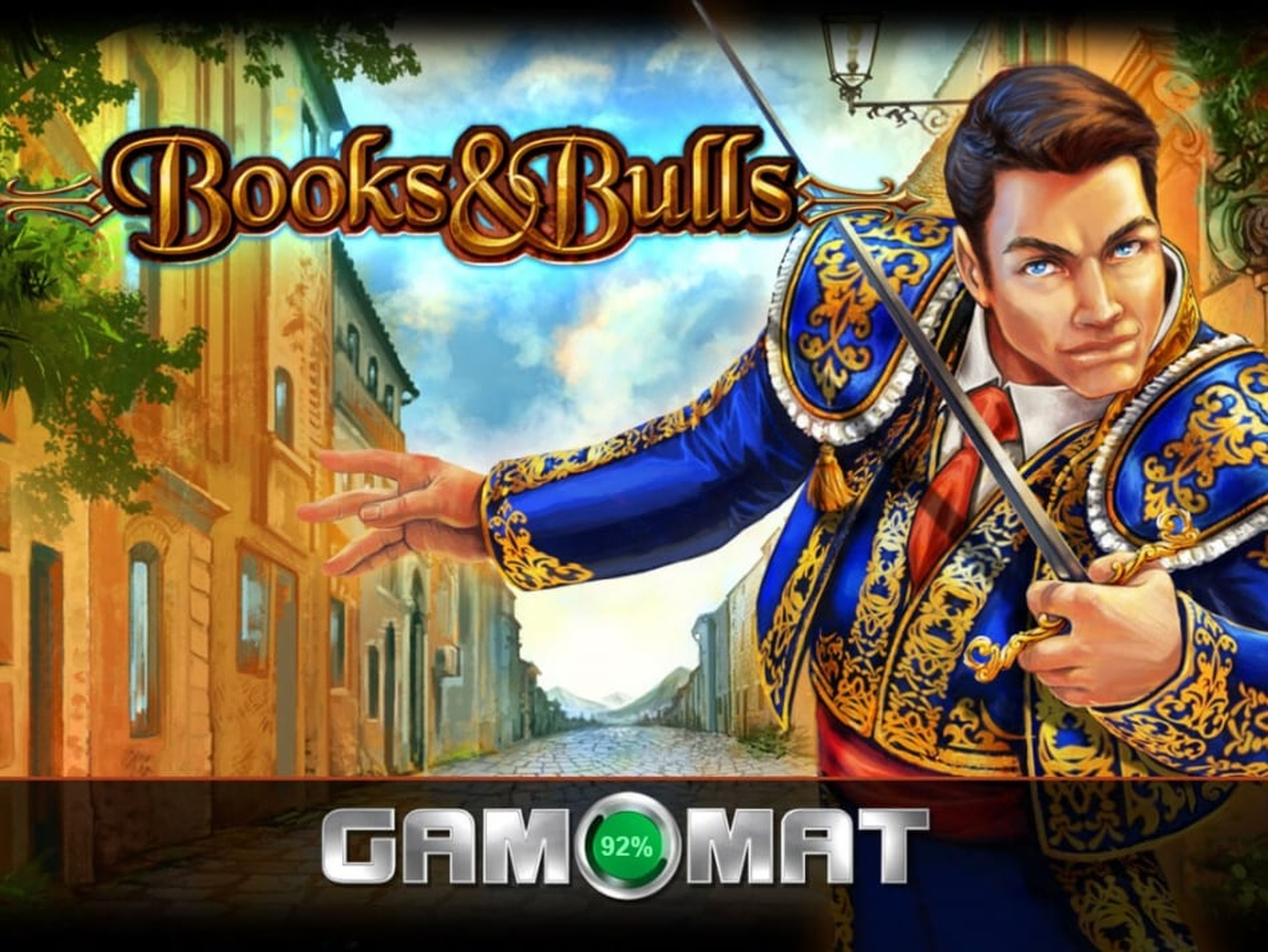 The Books and Bulls Online Slot Demo Game by Gamomat