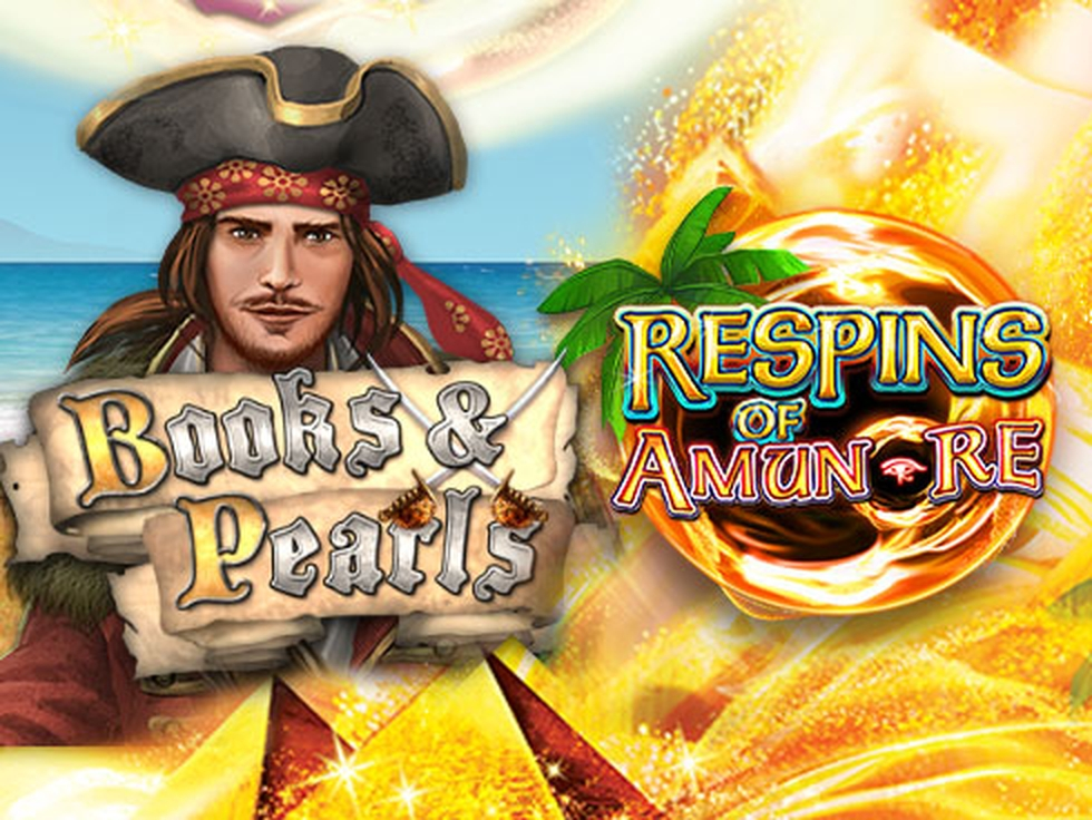 The Books and Pearls Respins of Amun-Re Online Slot Demo Game by Gamomat