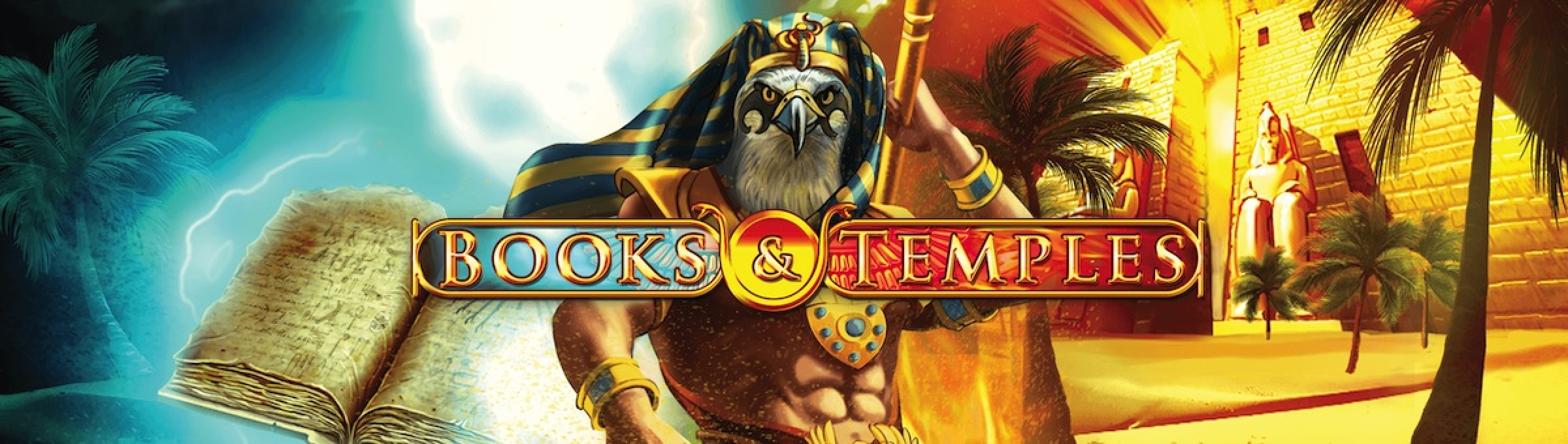 The Books and Temples Online Slot Demo Game by Gamomat