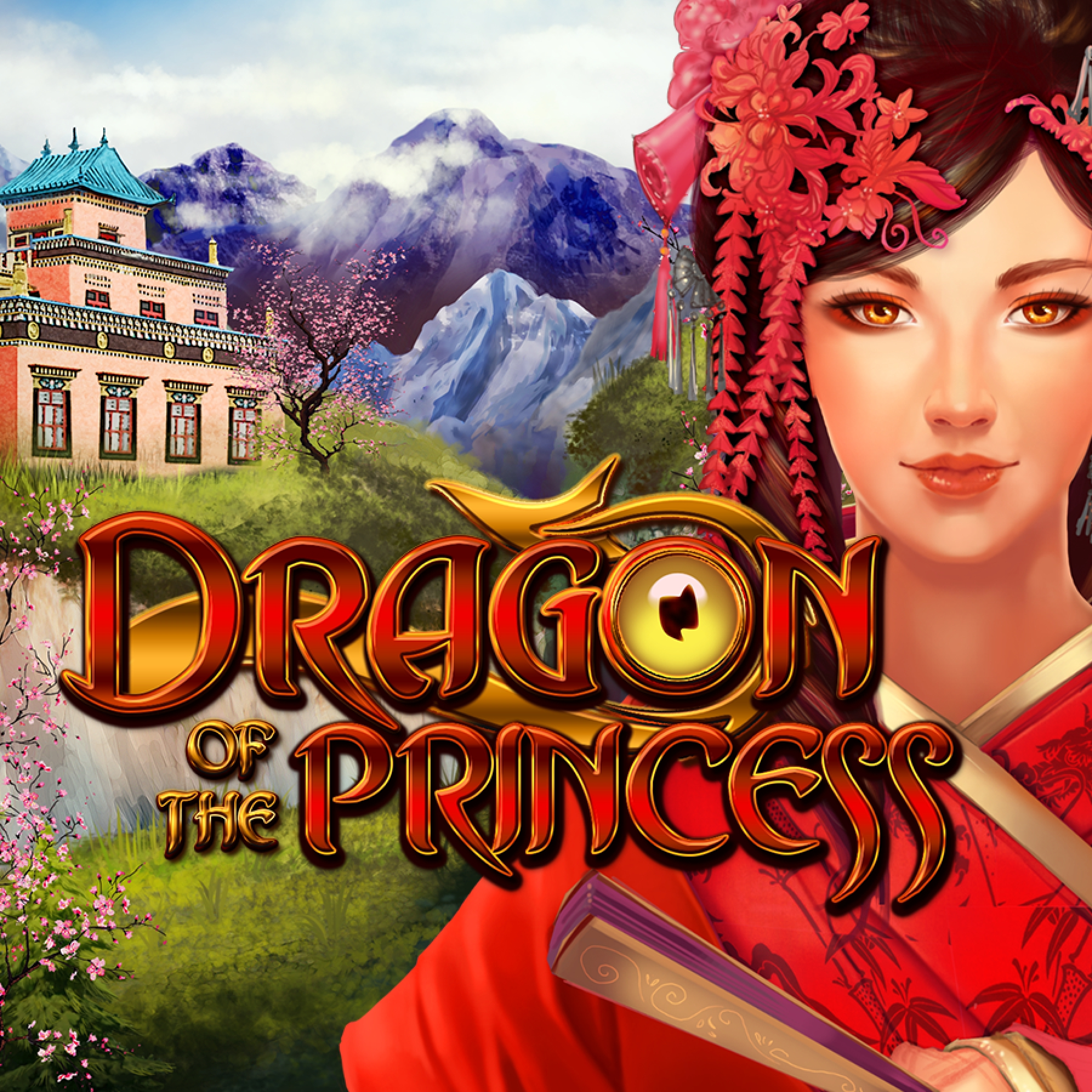 The Dragon of the Princess Online Slot Demo Game by Gamomat