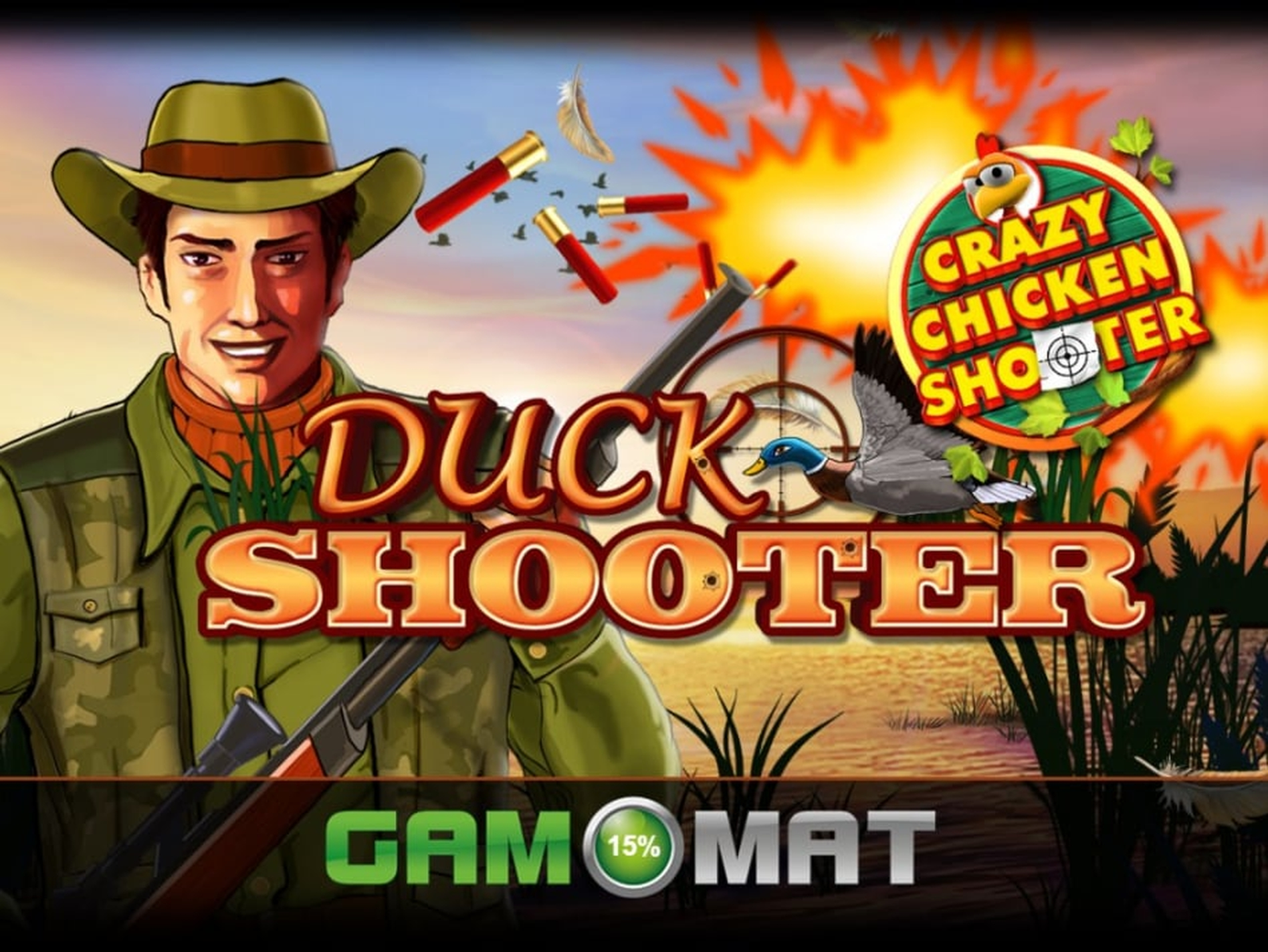 The Duck Shooter Online Slot Demo Game by Gamomat