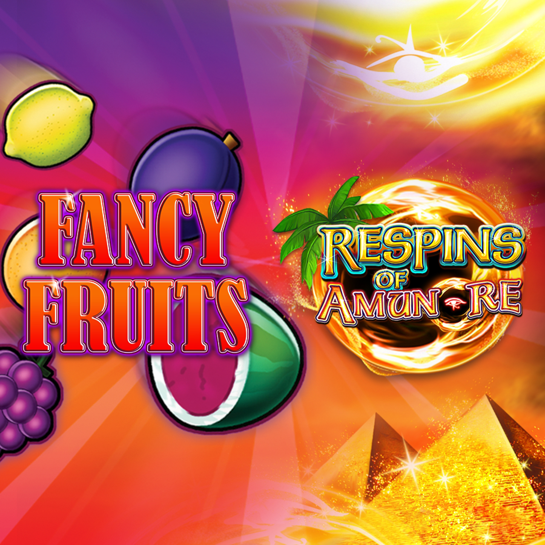 The Fancy Fruits Respins Of Amun-Re Online Slot Demo Game by Gamomat