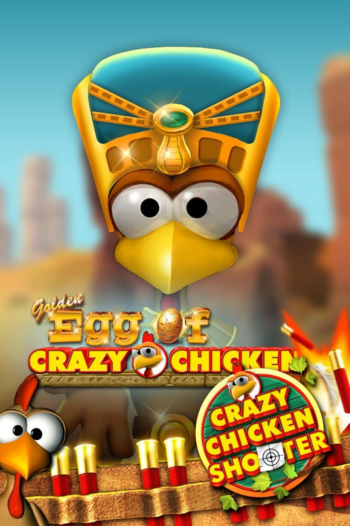 The Golden Egg of Crazy Chicken CCS Online Slot Demo Game by Gamomat