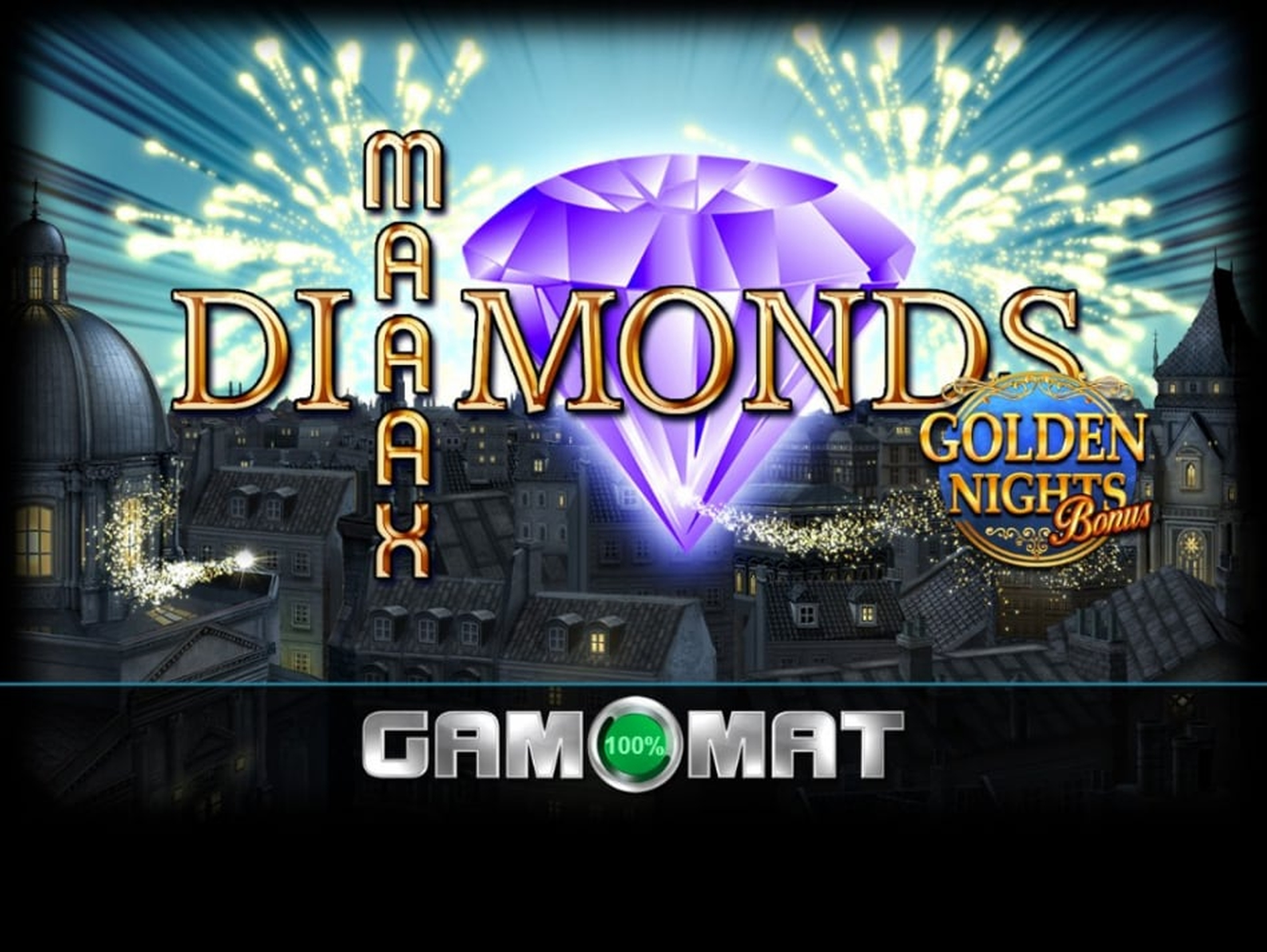 The Maaax Diamonds GDN Online Slot Demo Game by Gamomat