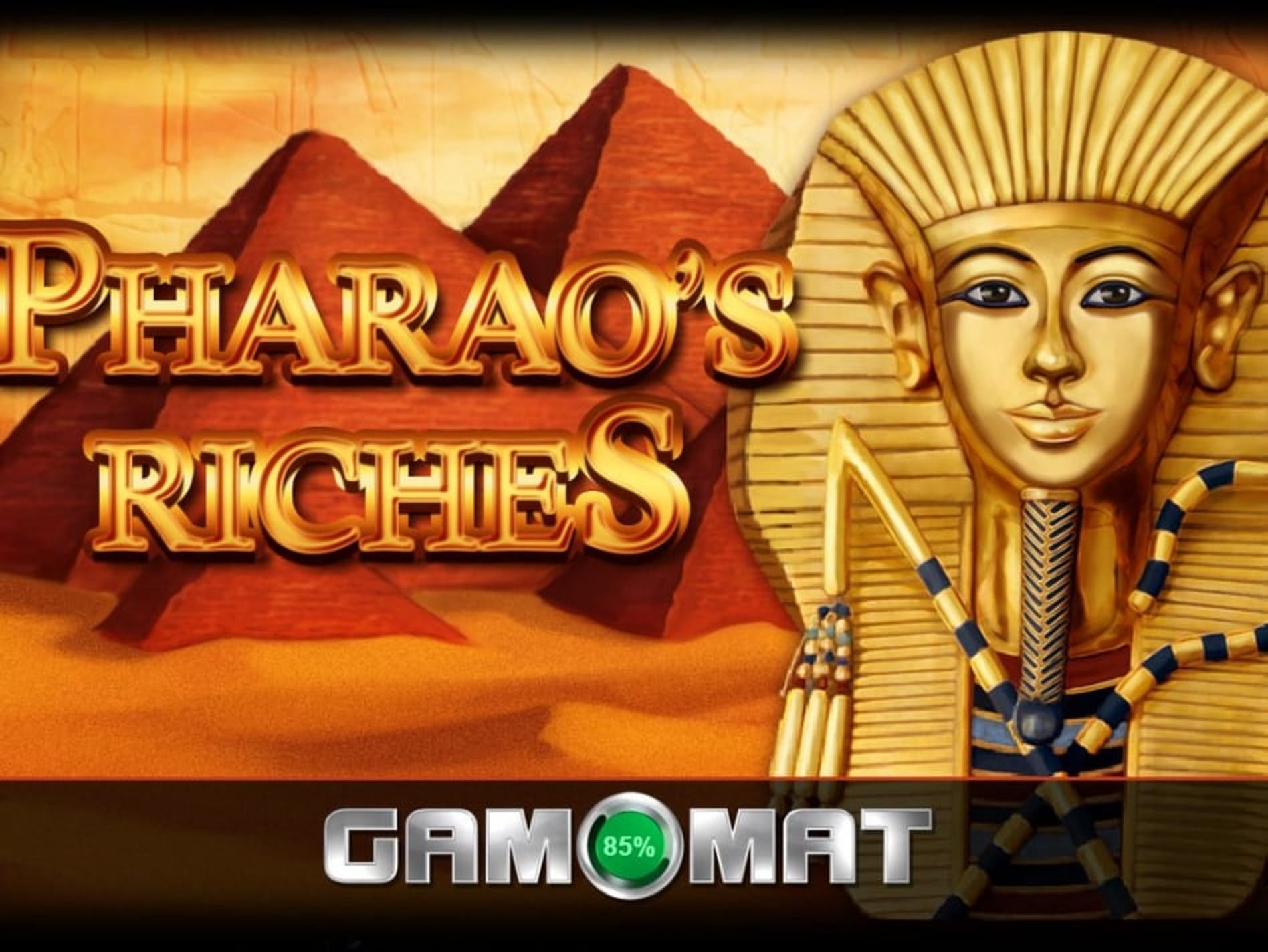 The Pharao's Riches GDN Online Slot Demo Game by Gamomat
