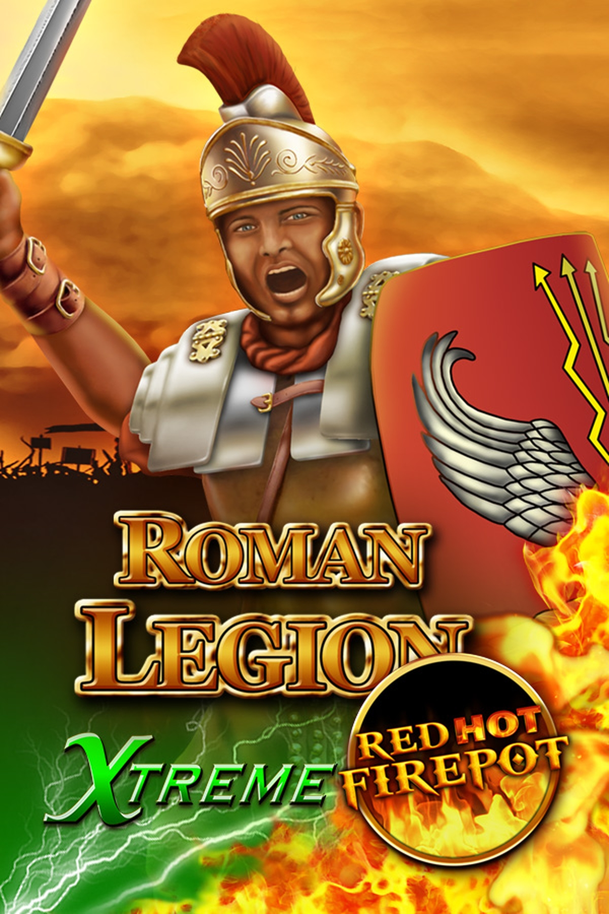 The Roman Legion Xtreme RHFP Online Slot Demo Game by Gamomat