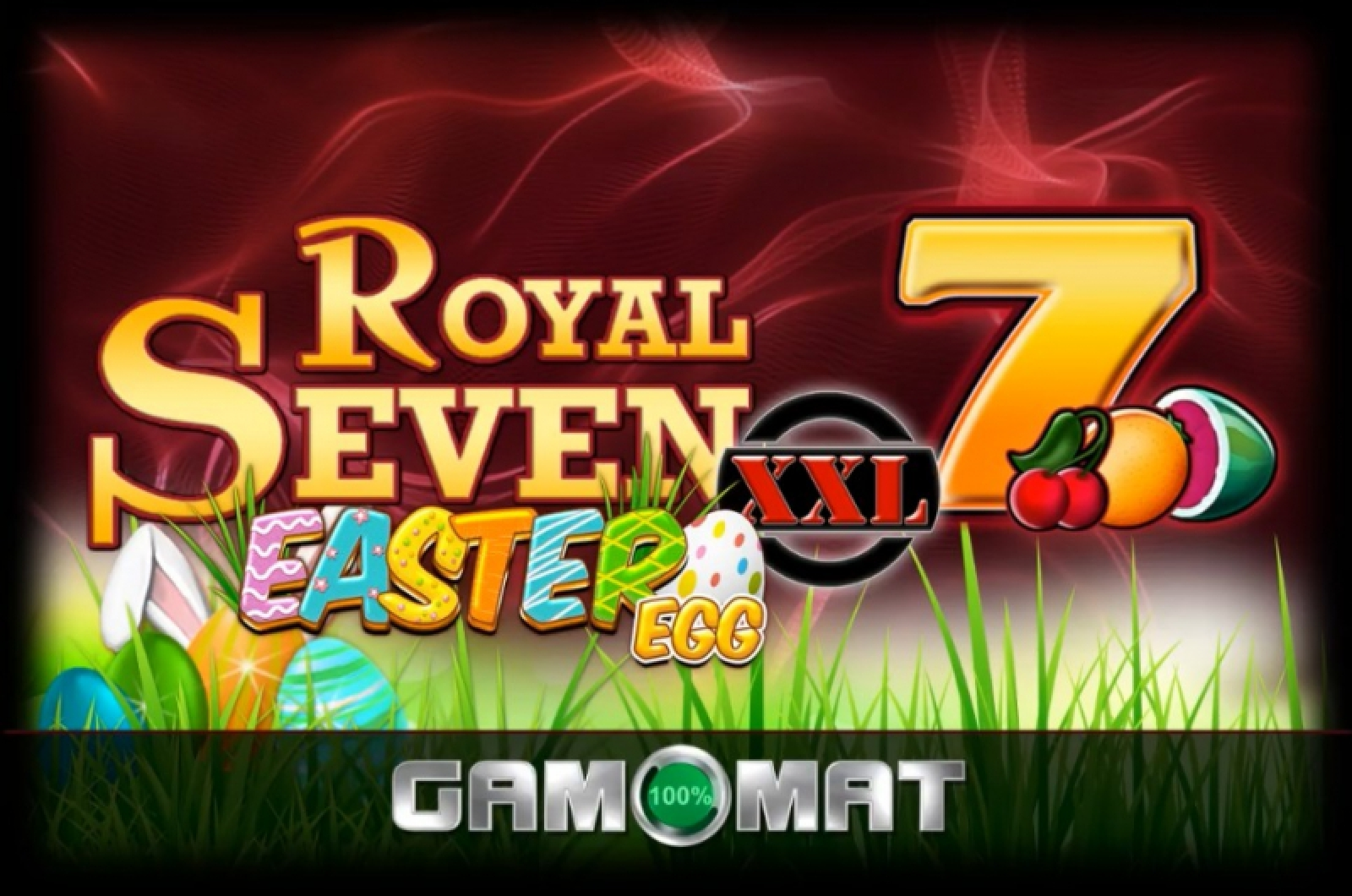 The Royal Seven XXL Easter Egg Online Slot Demo Game by Gamomat