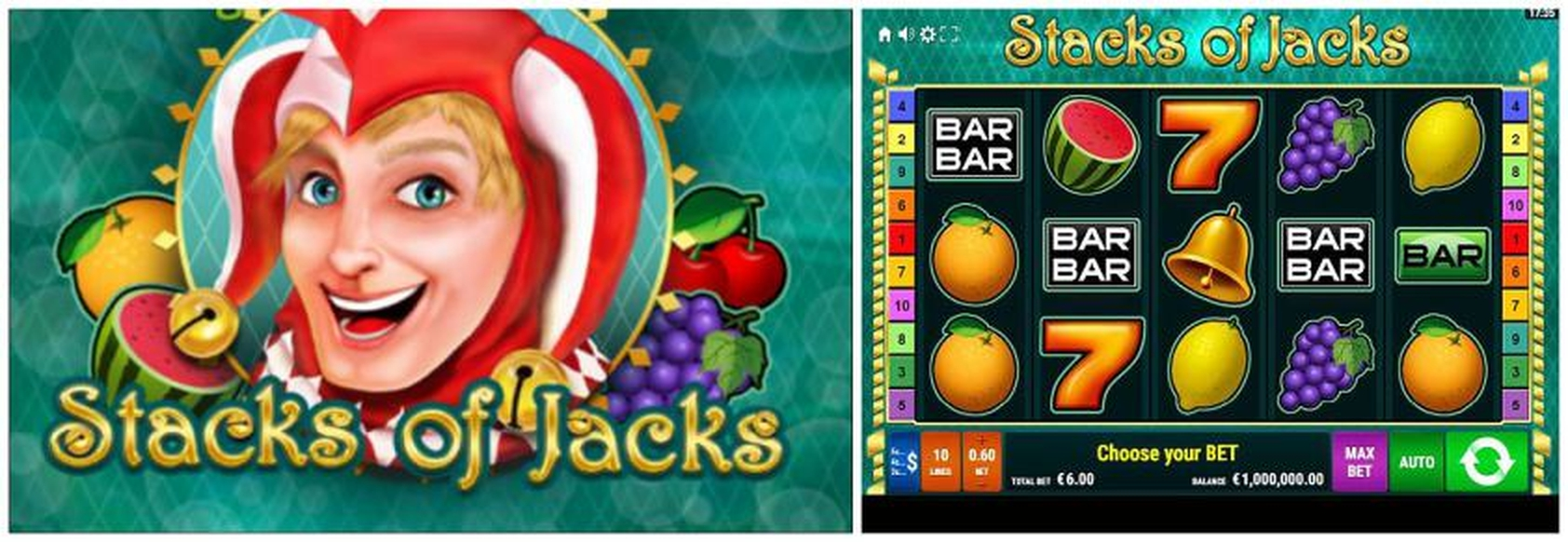 The Stacks of Jacks Online Slot Demo Game by Gamomat